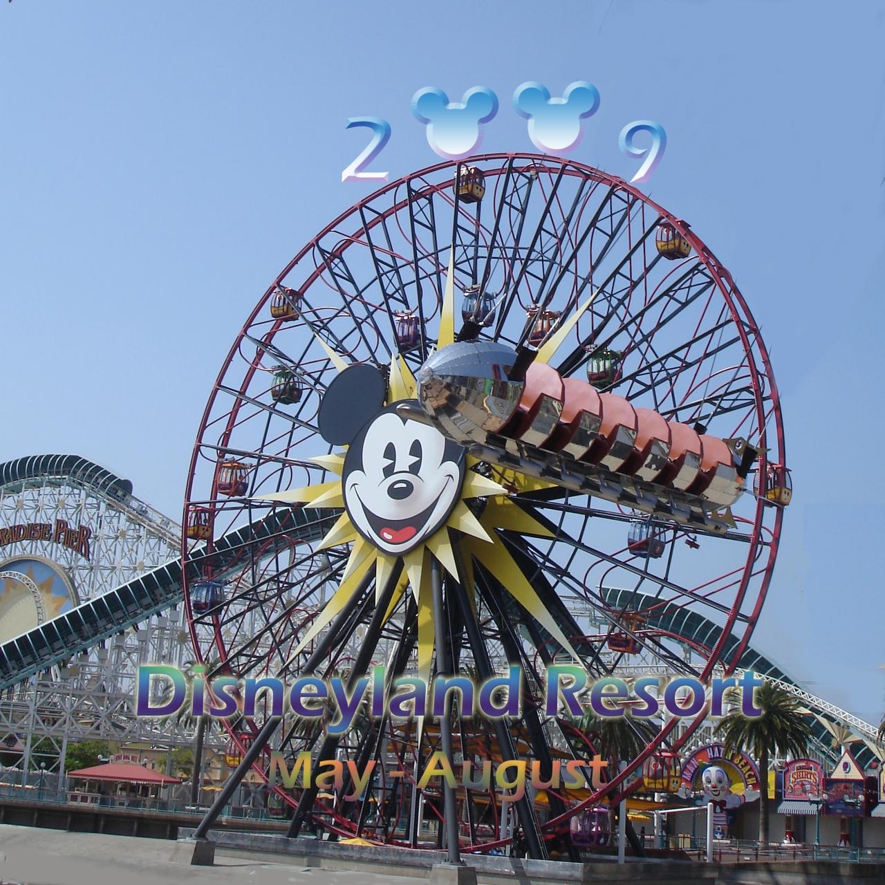 2009 夏のディズニーリゾート』ディズニーランド周辺(アメリカ)の旅行