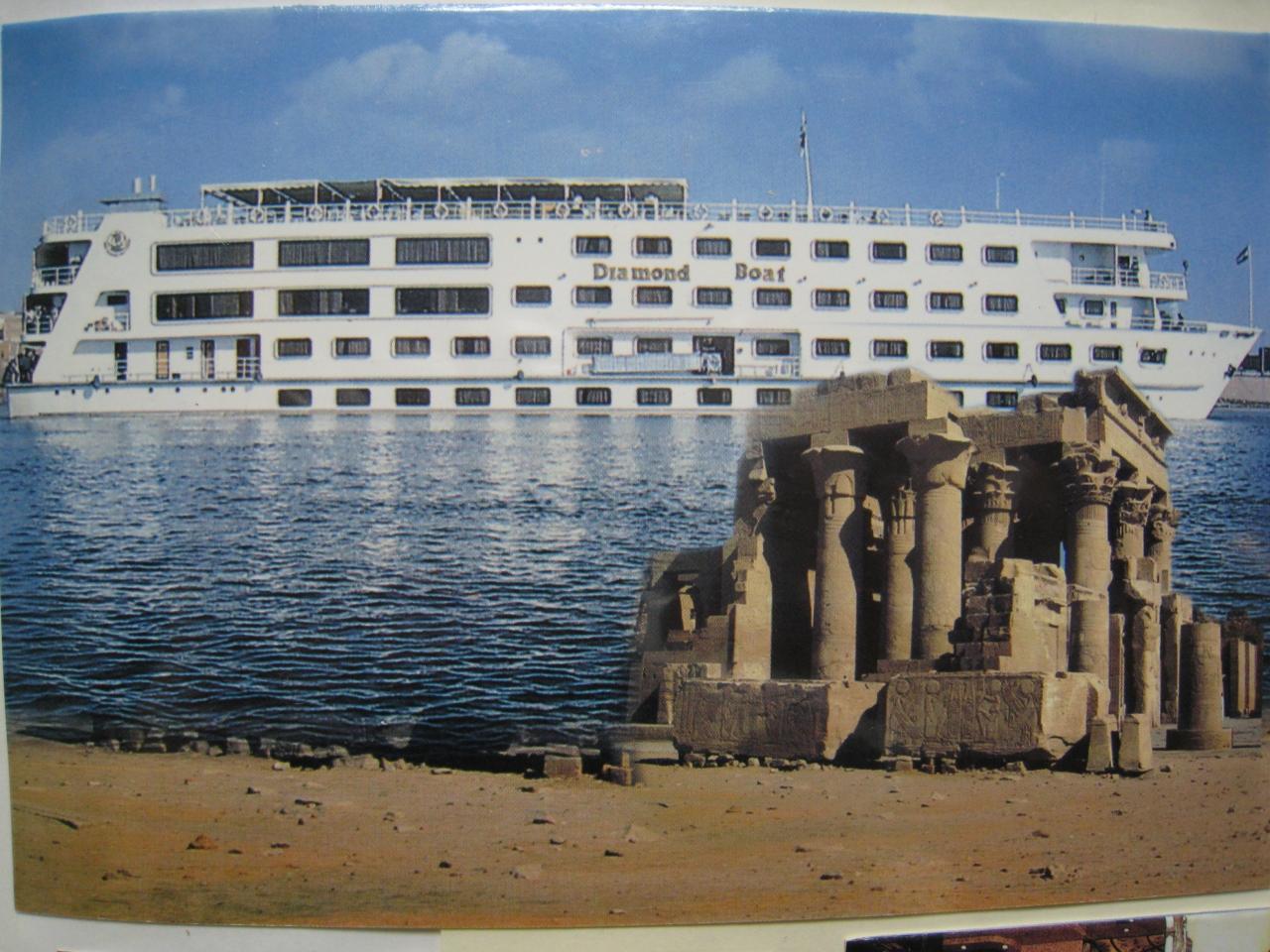 エジプト旅行の思い出と感想ー1  ナイル河クルーズ(1)・・・アガサ・クリスティの泊まったアスワンのクラシックなホテル