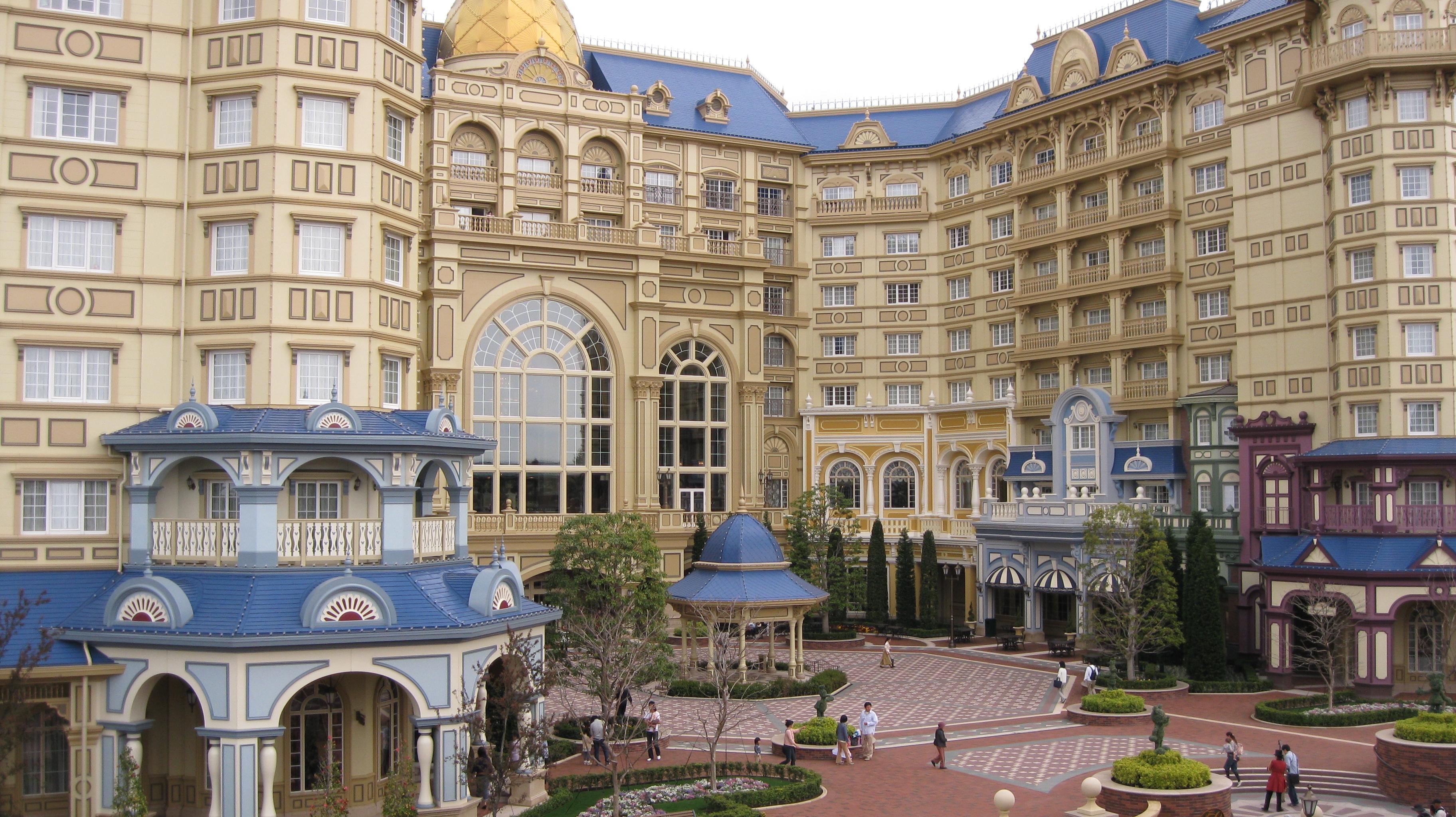 赤ちゃんと泊まる/ディズニーランドホテル』東京ディズニーリゾート
