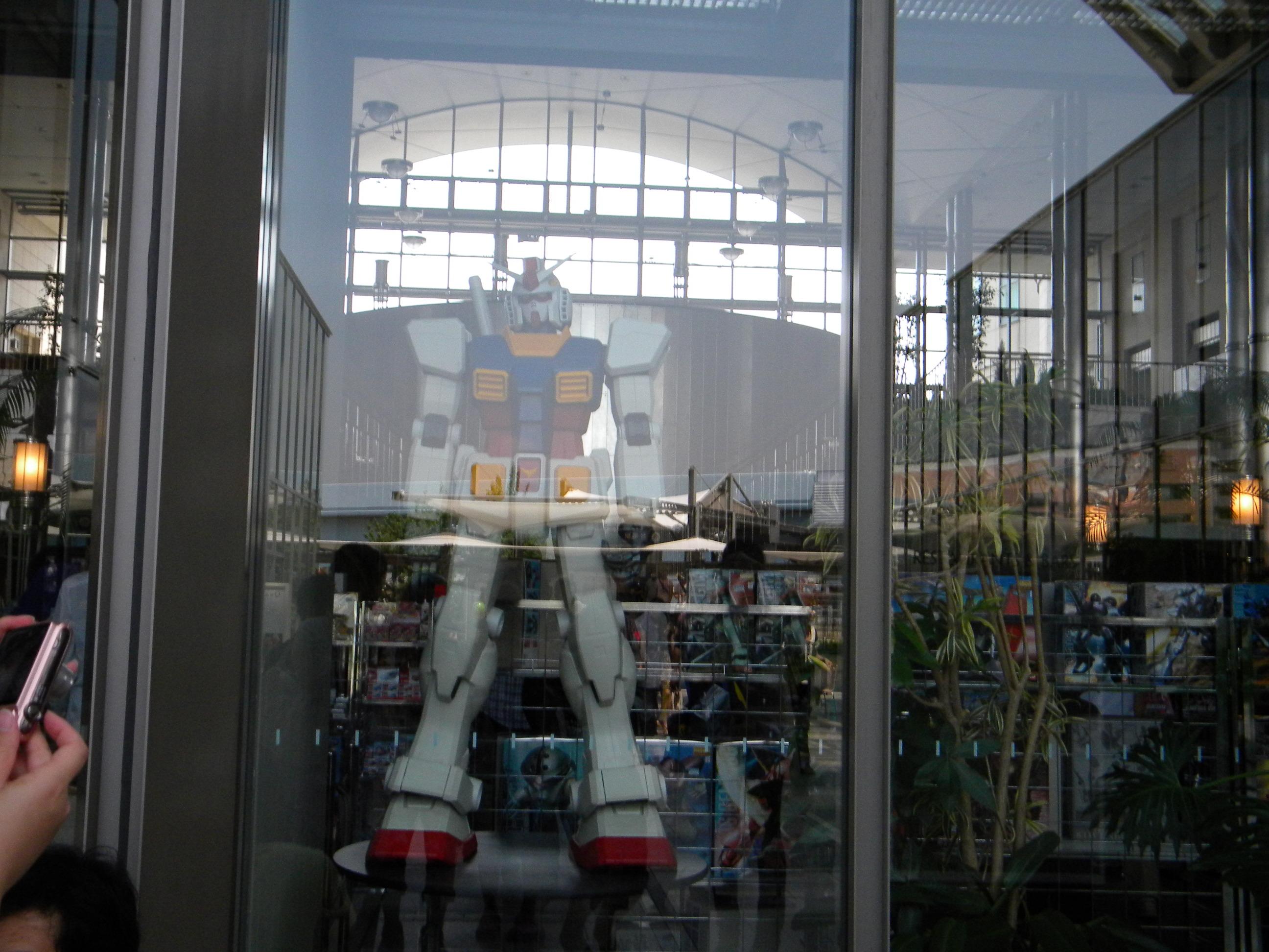 2009/08 ディズニー旅行4日目 「ガンダム&大江戸温泉」』お台場(東京