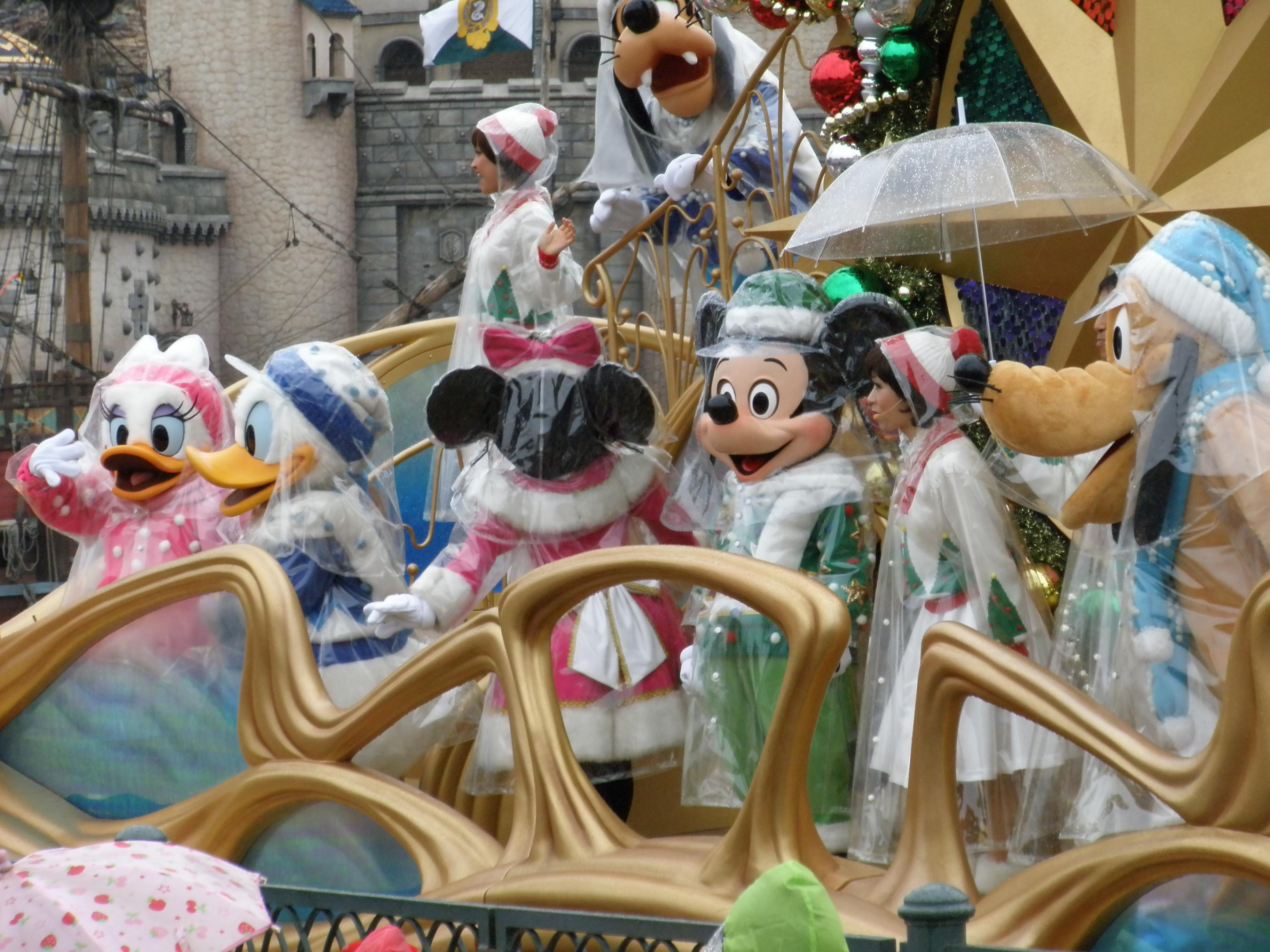 11月17日 雨のディズニー・シー』東京ディズニーリゾート(千葉県)の