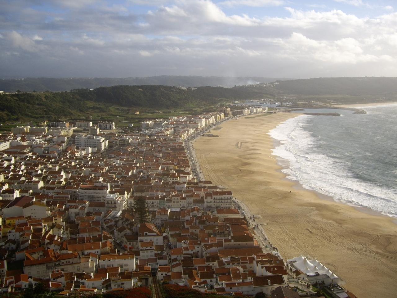 ポルトガル周遊旅行(2009年末)/ナザレ散策編