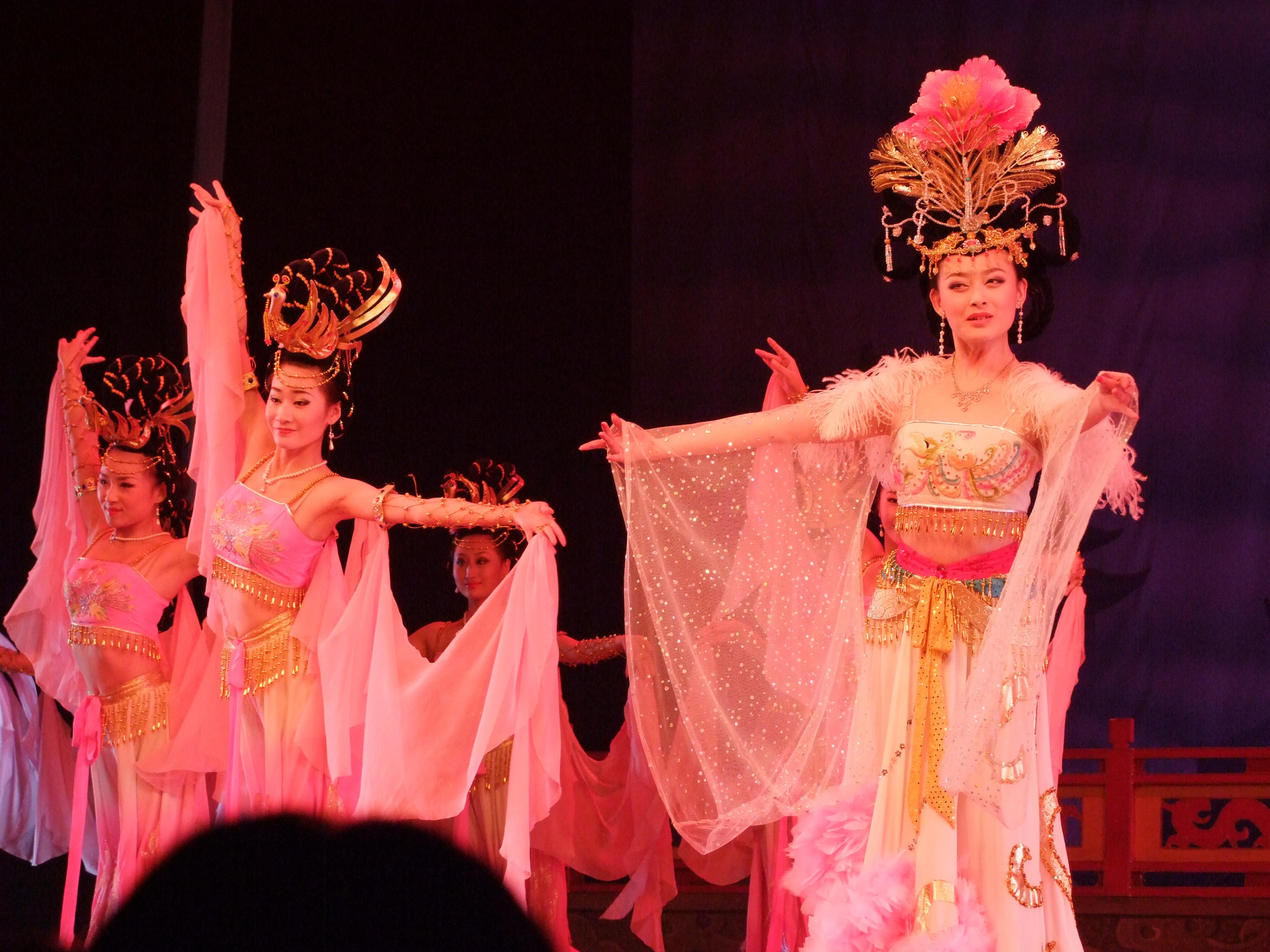 憧れの西安⑧:歌舞大劇院にて唐...