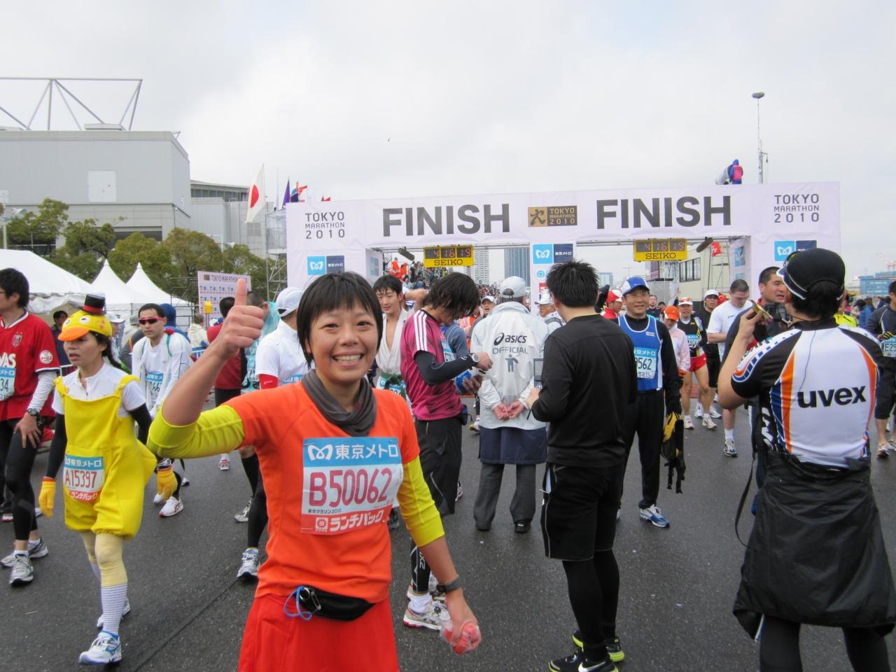 2010年2月 完走!感激!2010東京...