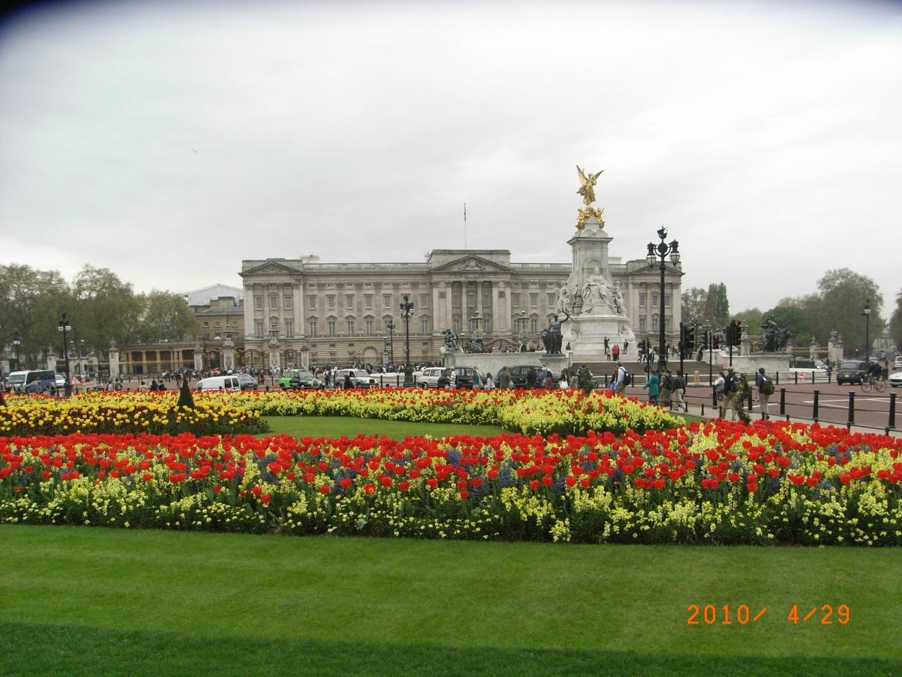 2010年ヨーロッパ春の旅<出発&到着日>