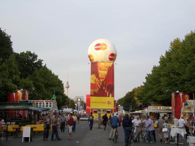 ドイツ FIFAワールドカップ2006観戦旅行 1:成田→ベルリン
