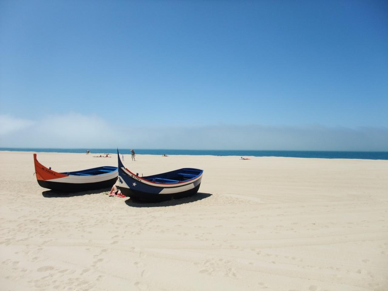 【ポルトガル・ナザレ】海辺でのんびり&路地裏探検