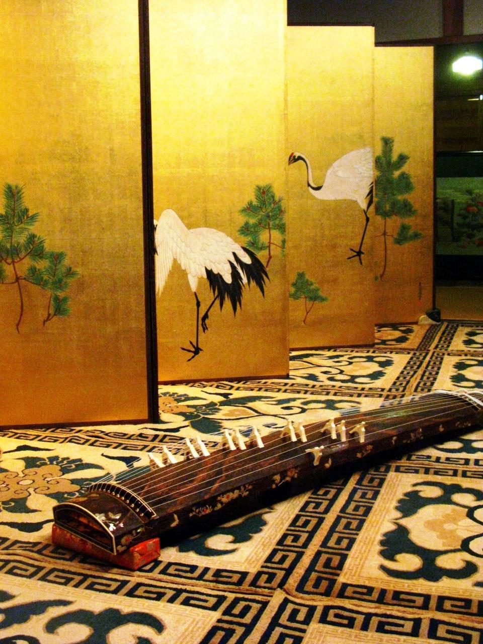 祇園祭-5 屏風祭*鶴・百花図屏風などを公開 ☆奥深い伝統の美