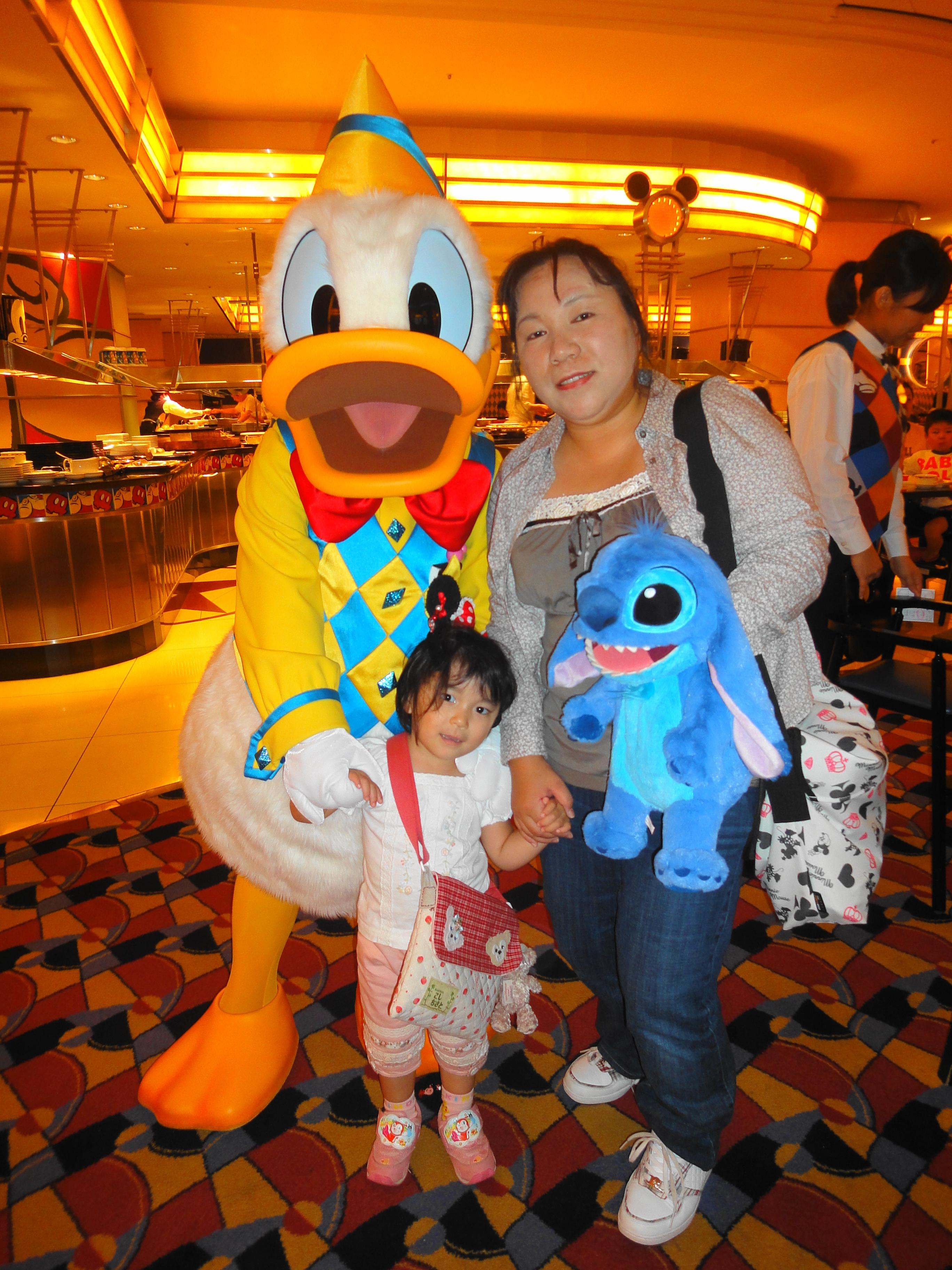2010夏ディズニー① アンバサダーホテル~シェフミッキー』東京