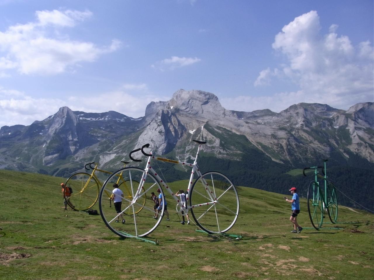 自転車で!ツール・ド・フランス...