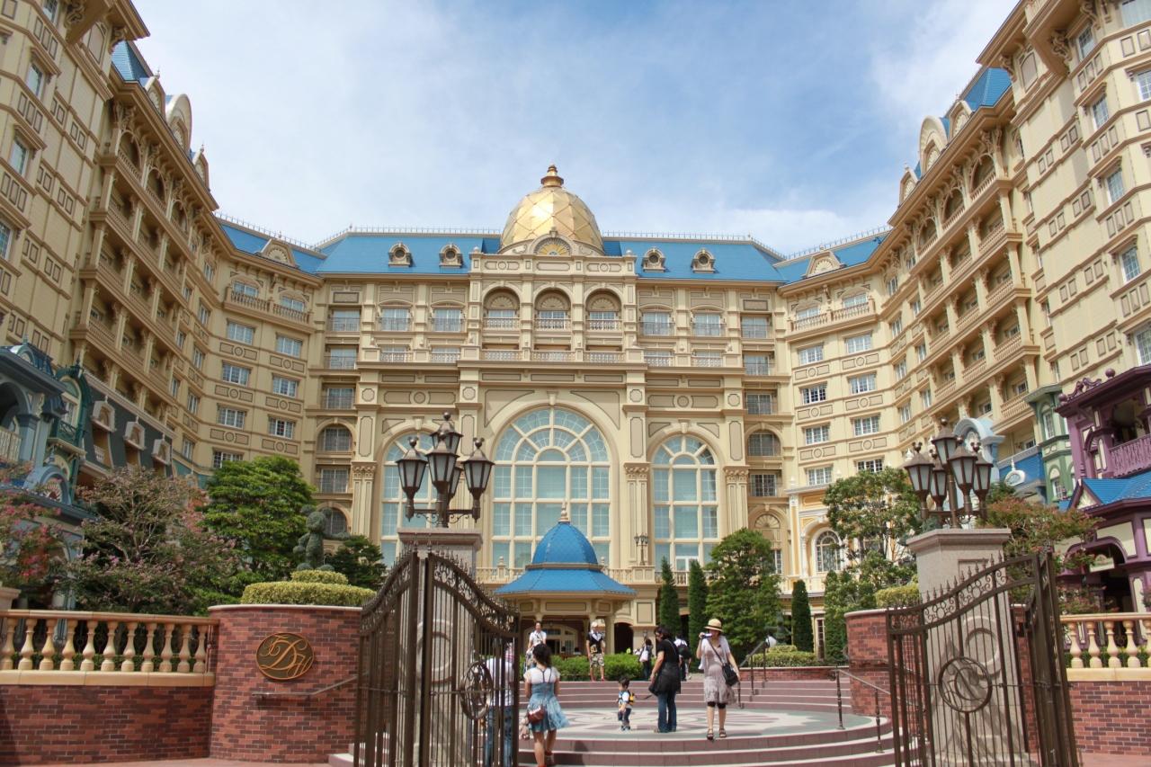 ディズニーランドホテル コーナールーム パークビュー!!』東京