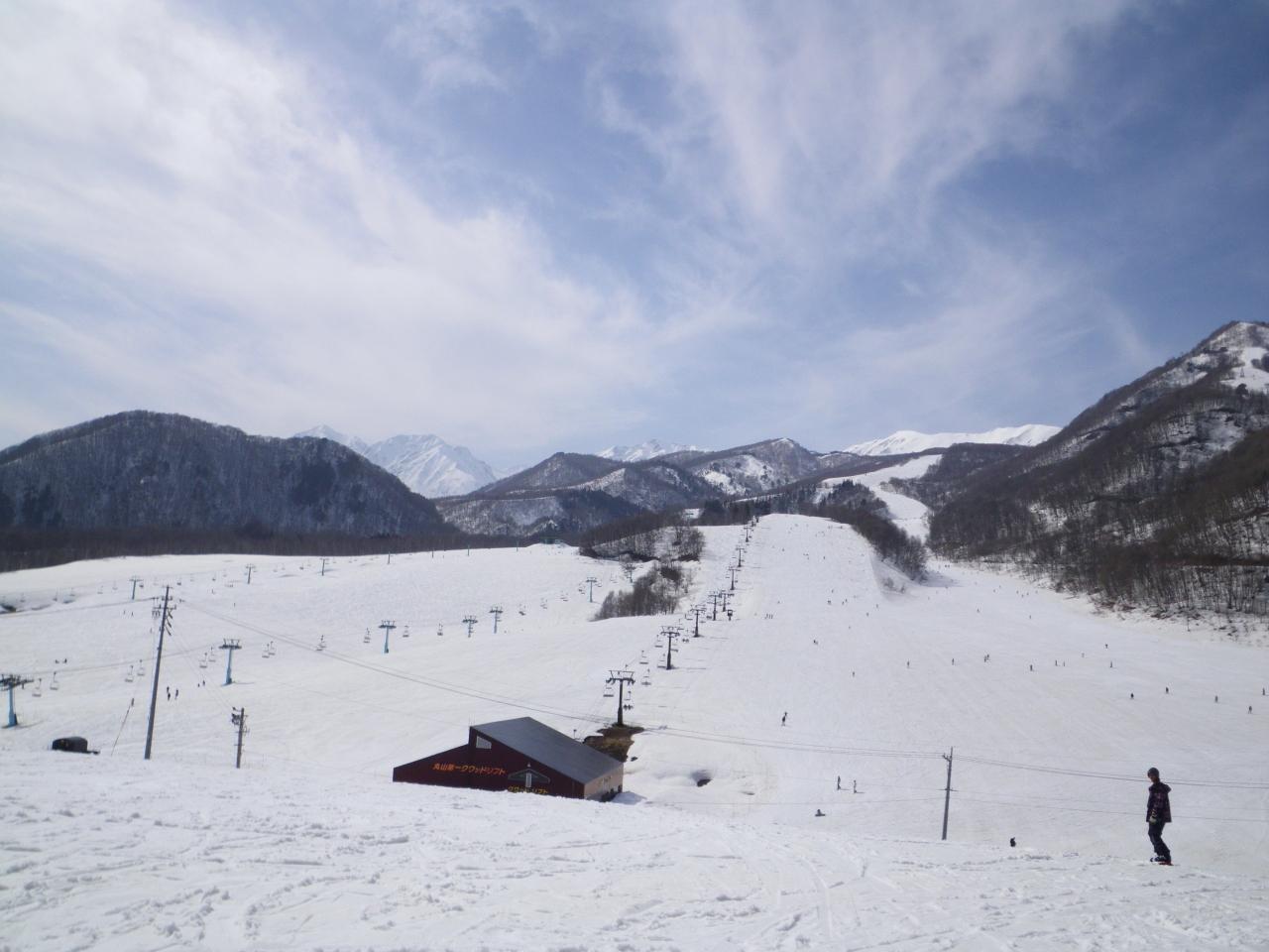 高原 栂 場 天気 スキー 池