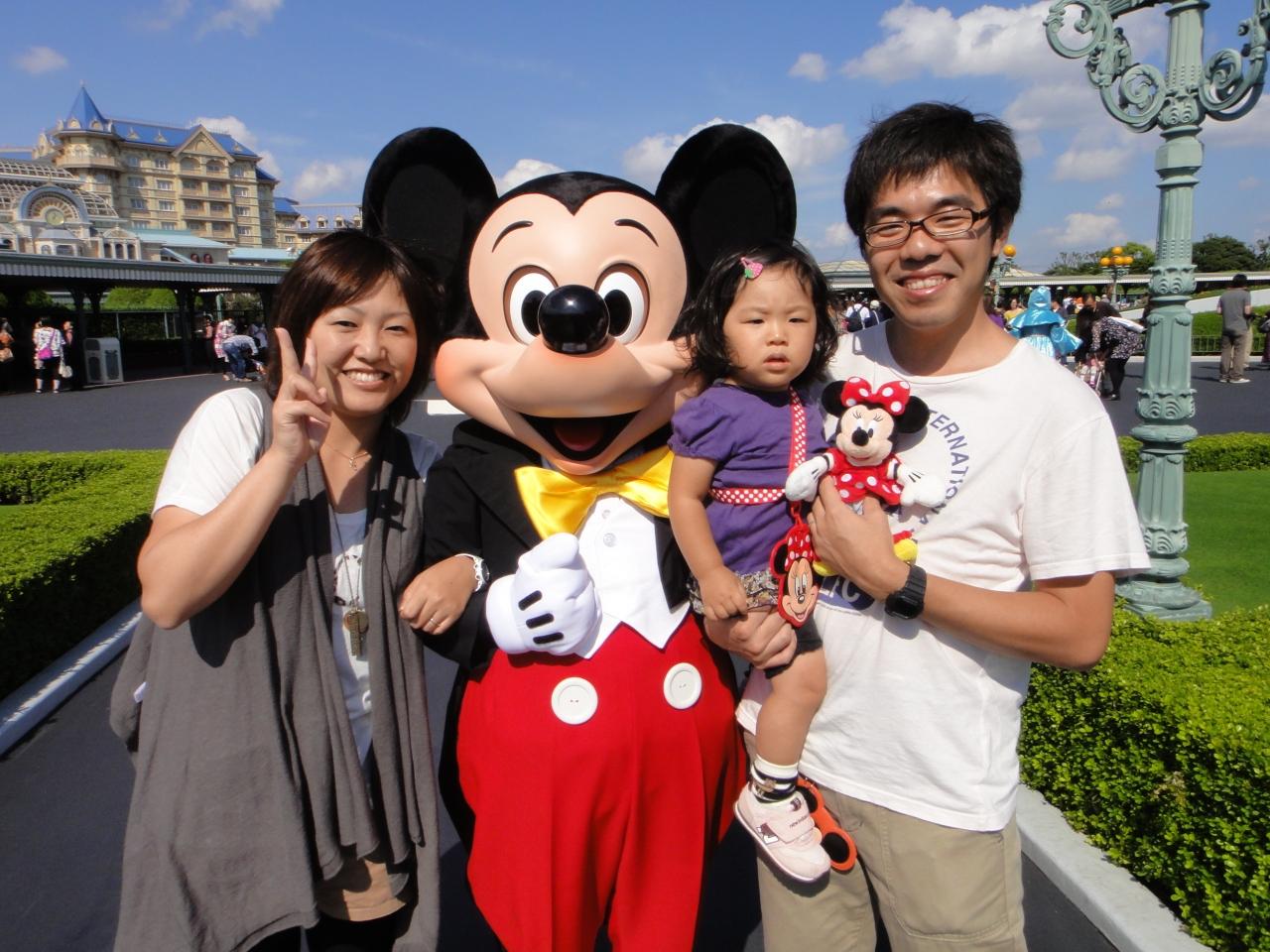 ☆2歳の誕生日 ディズニーリゾートの旅 2010ハロウィン☆』東京