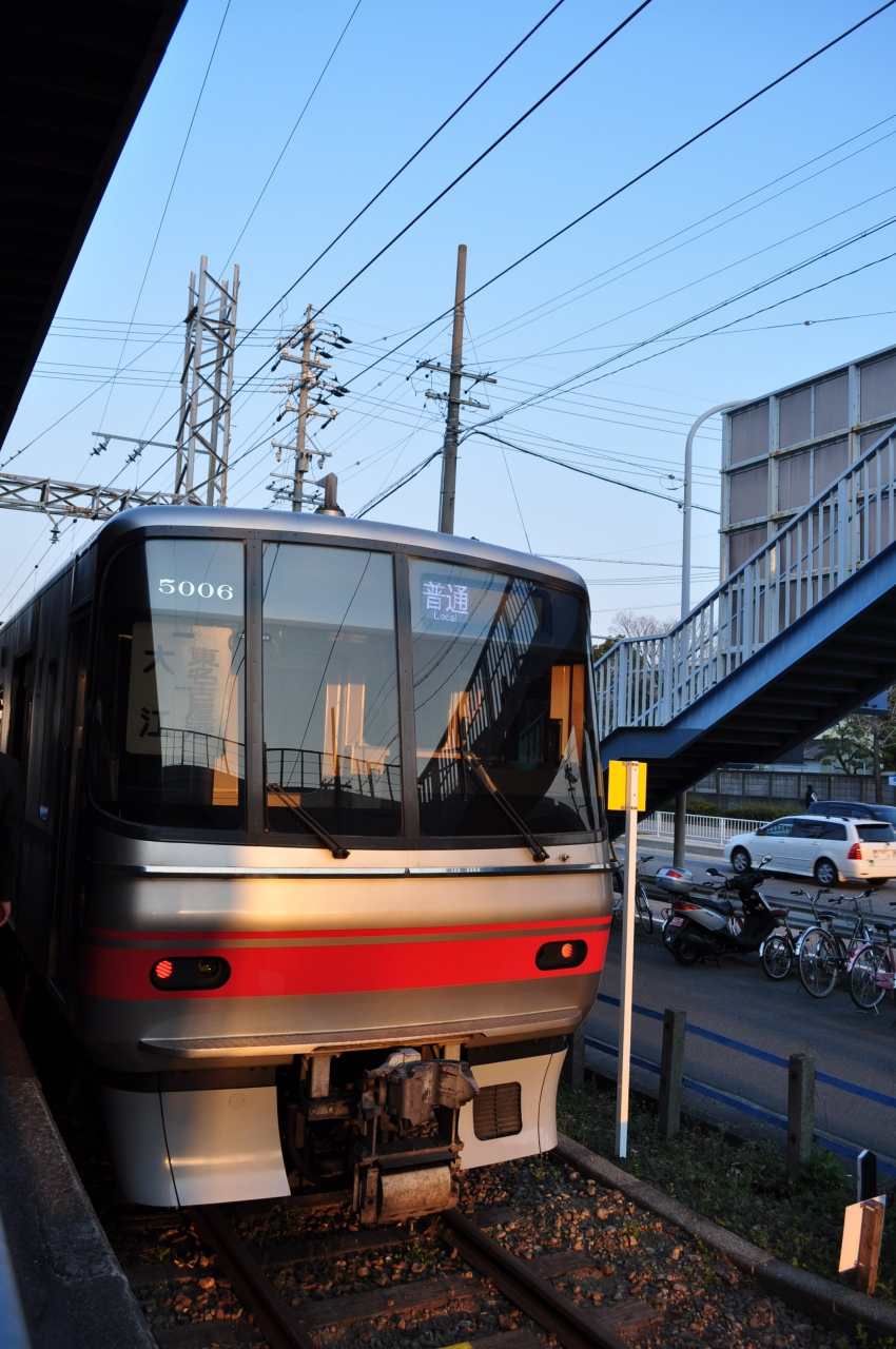 2011年3月鉄道旅行(名鉄築港線...