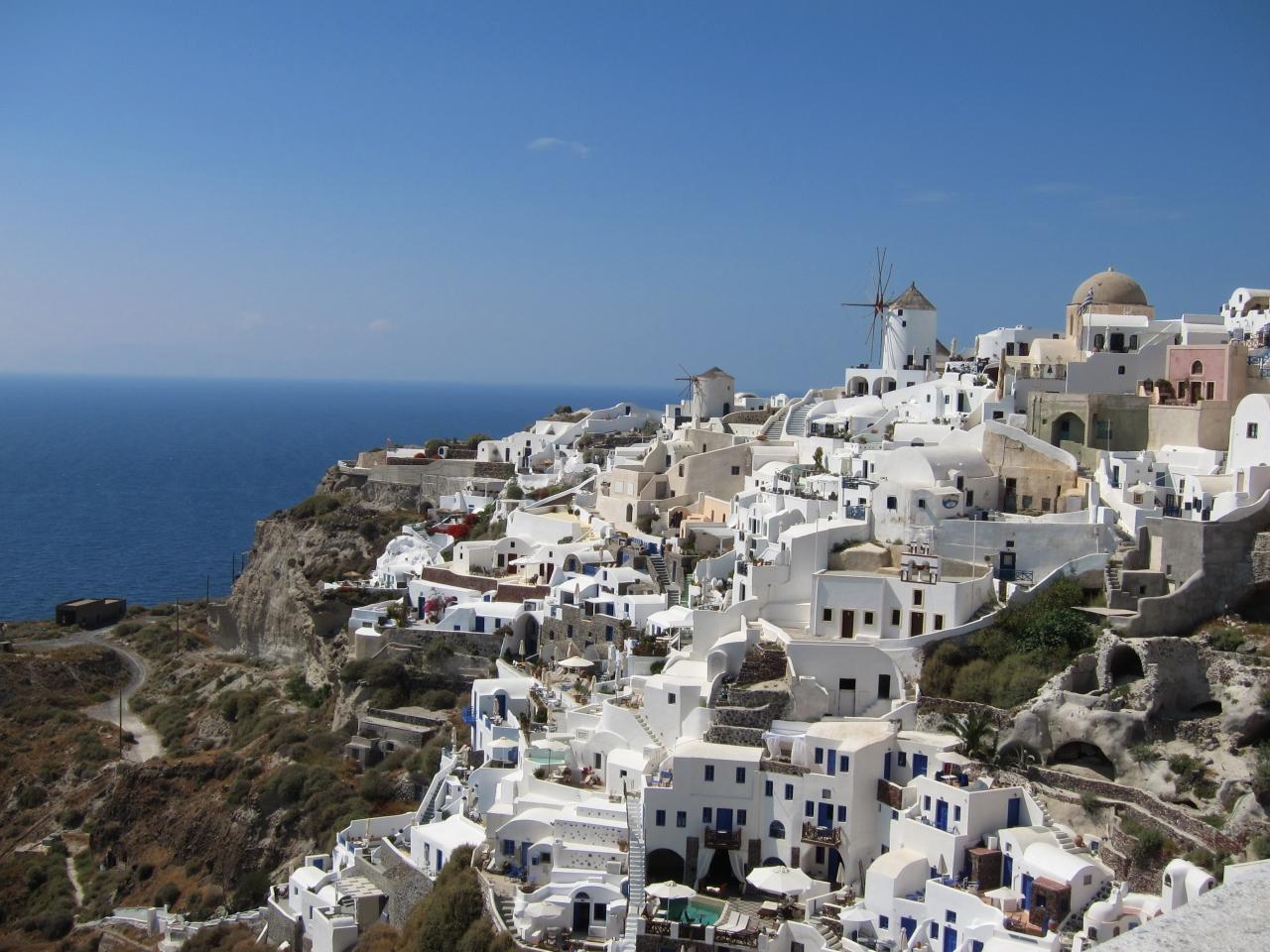 2011年・ギリシア(①サントリーニ島)