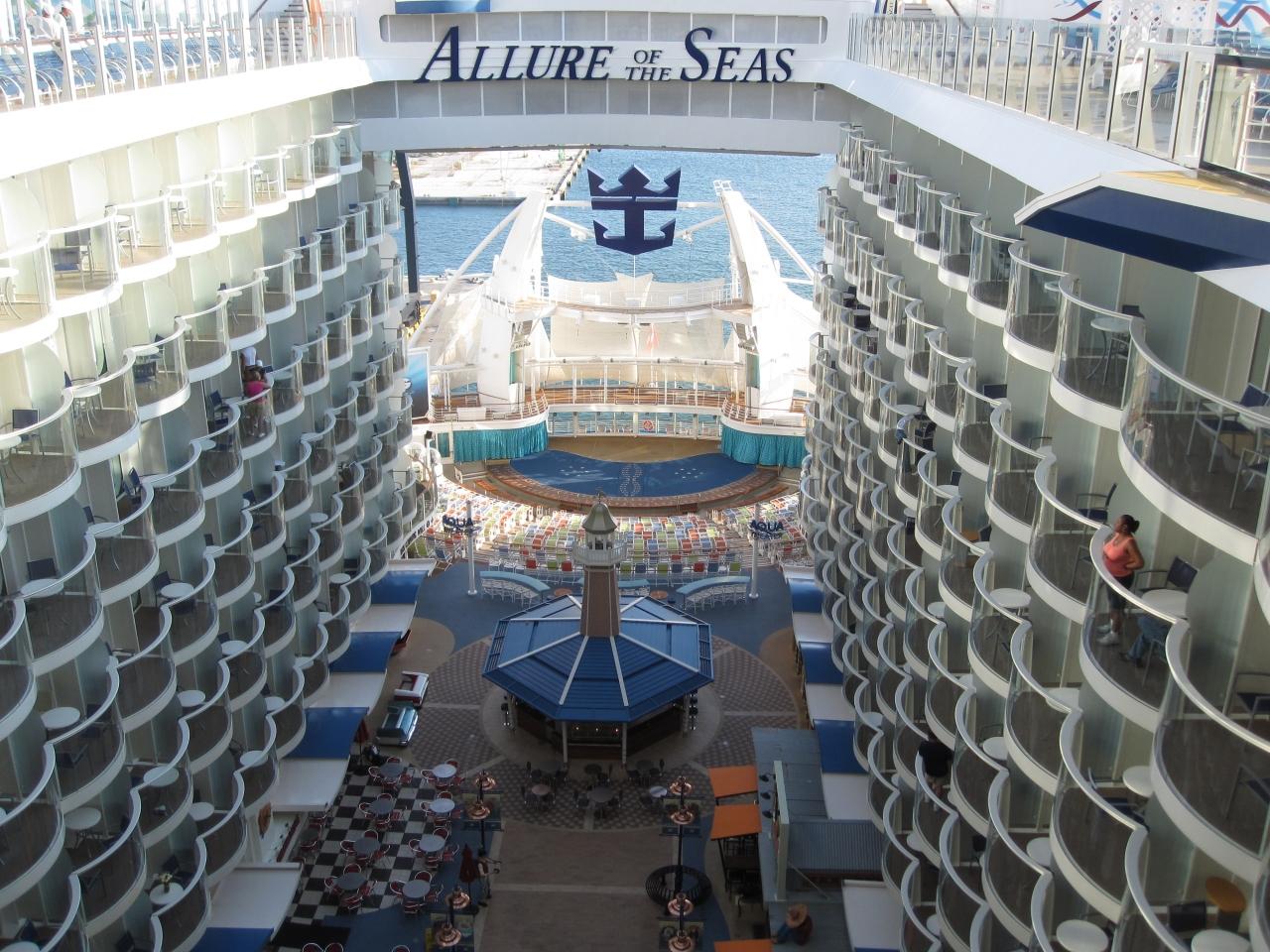 rci allure of the seas 西カリブ海クルーズの旅 5 day7終日
