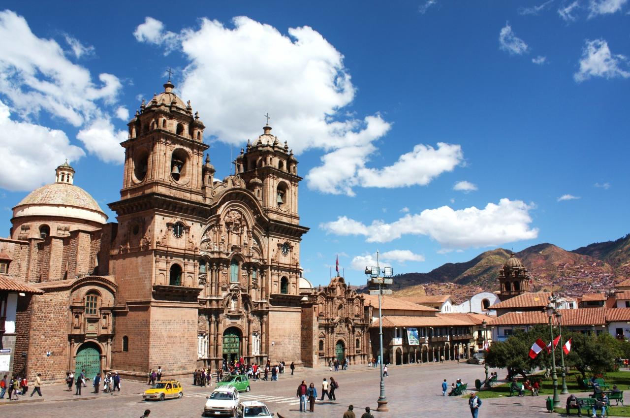 『ペルー紀行(3) クスコの青い空の下で~インカの石組みと ...