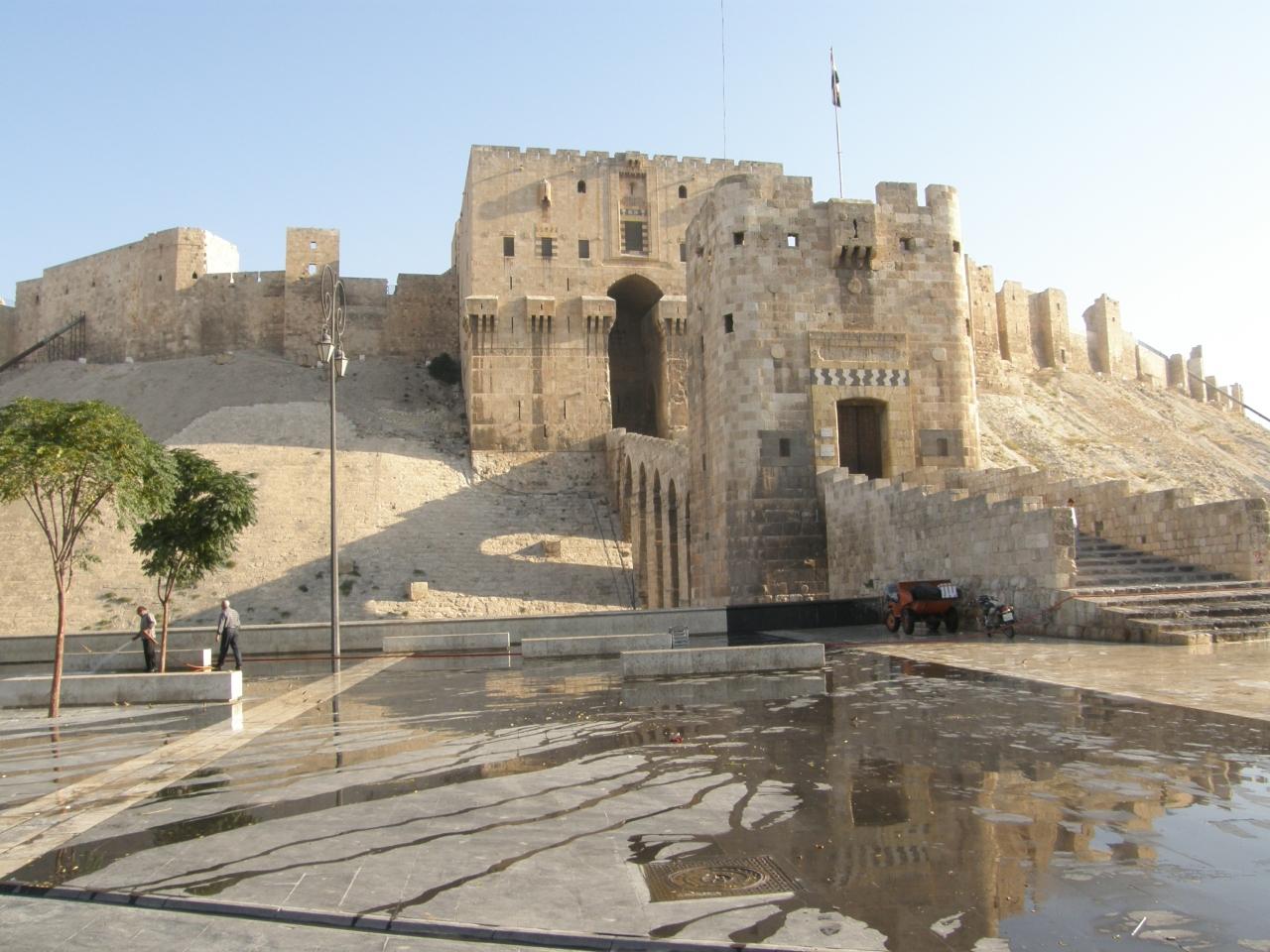 シリア ダマスカスからアレッポへ