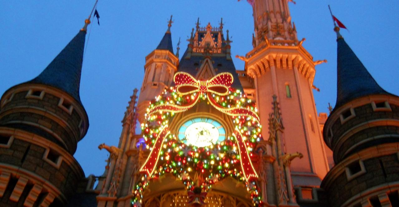 クリスマスの東京ディズニーランド☆』東京ディズニーリゾート(千葉県