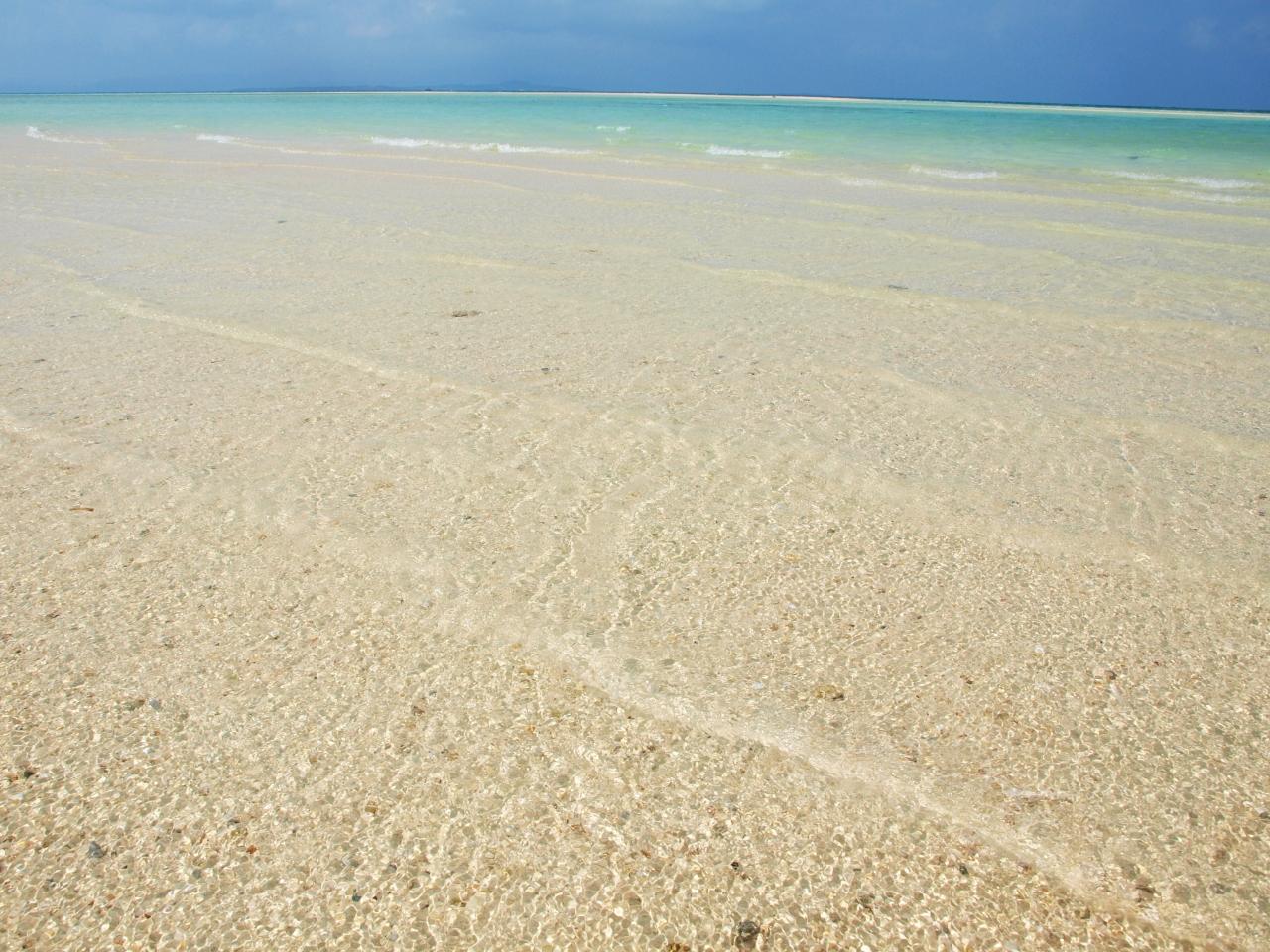 光る白砂とどこまでも続く夢のよ...