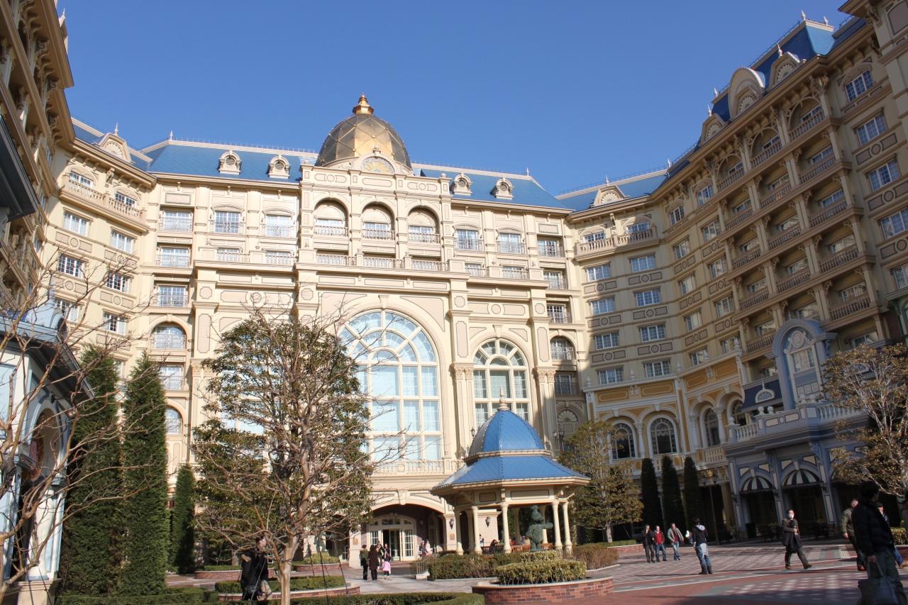 2回目東京ディズニーランドホテル マーセリーサロン利用のお泊り