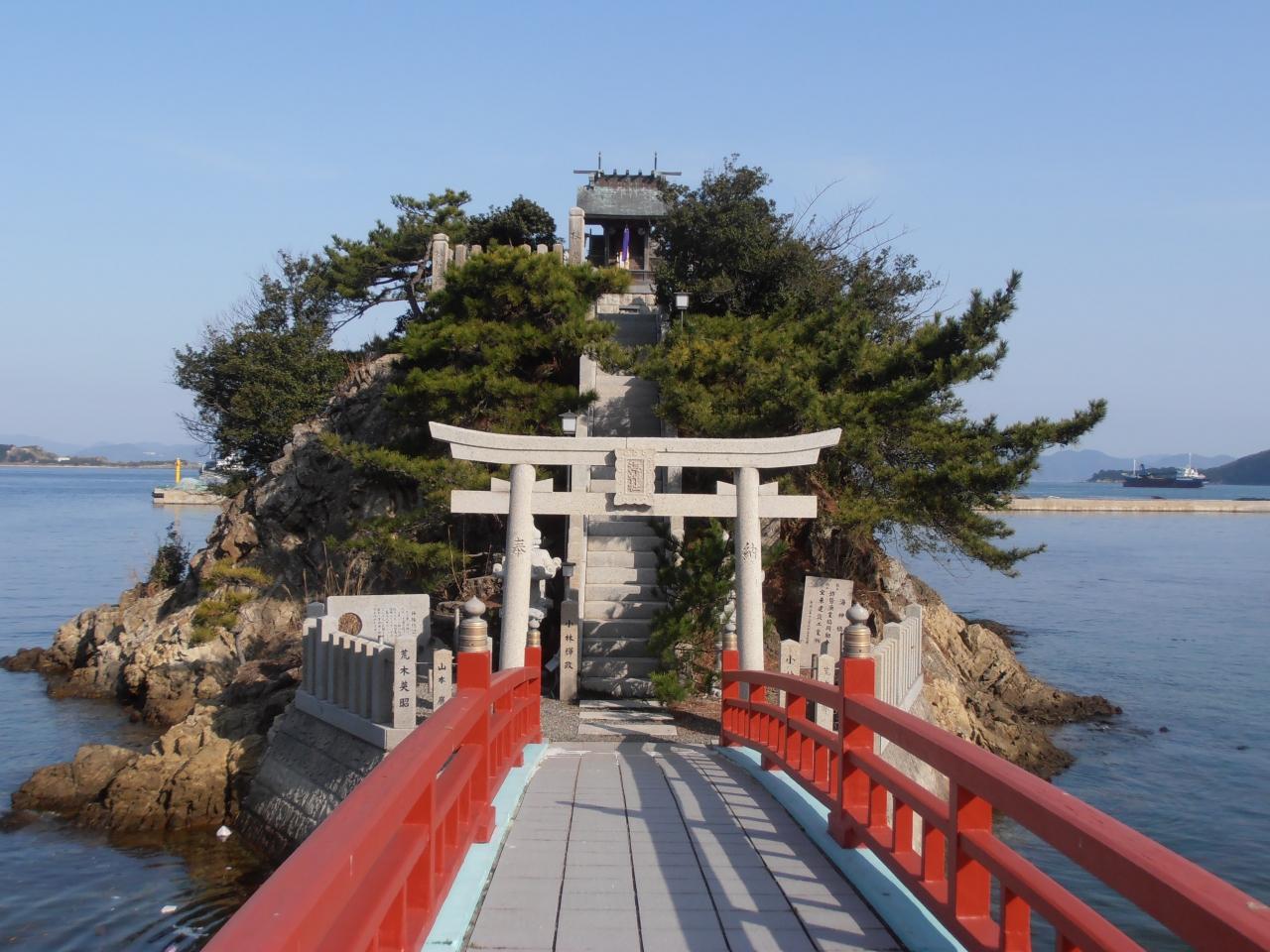 姫路沖の漁業の盛んな島・坊勢島...