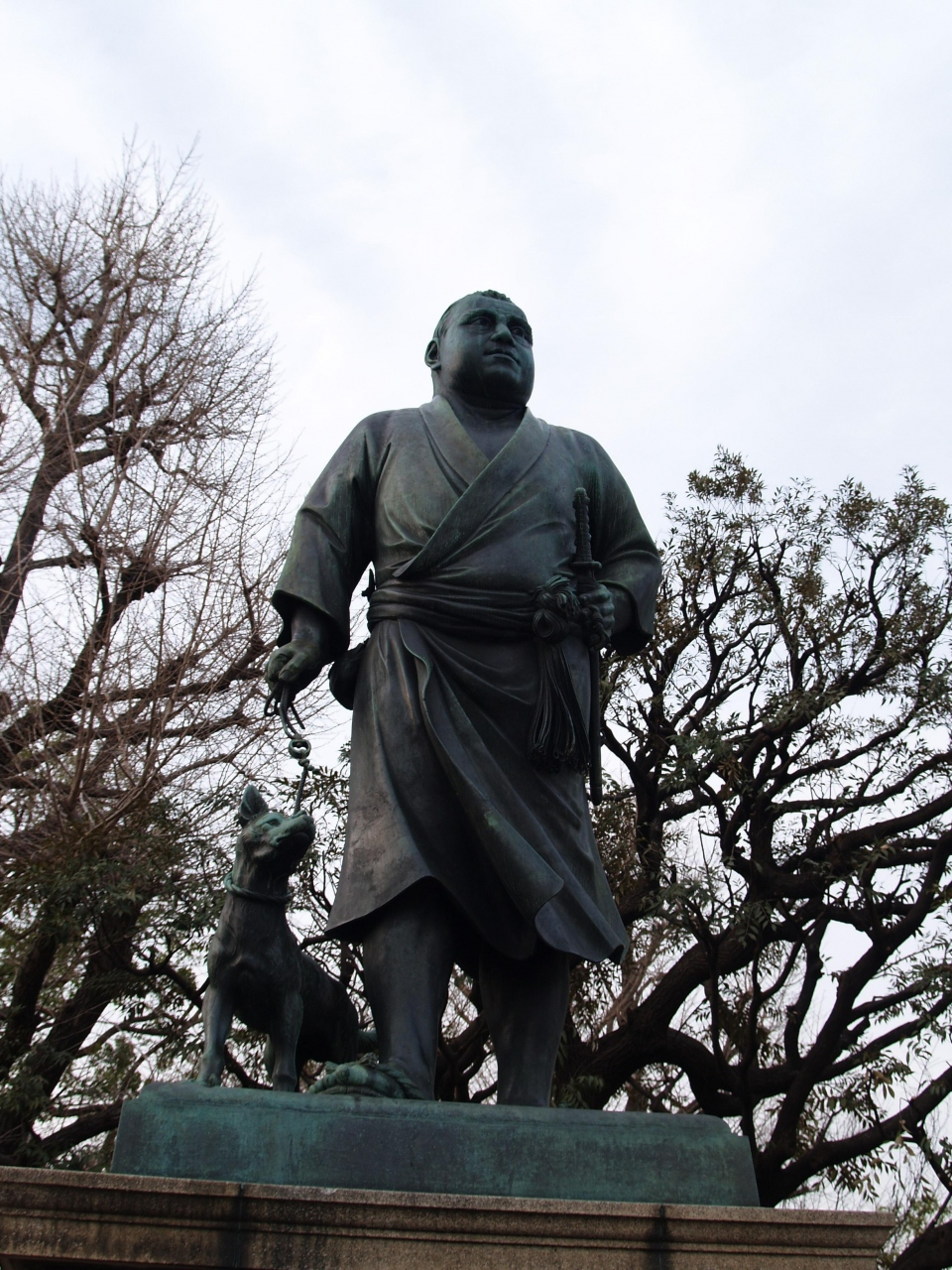 隆盛 西郷 上野 公園