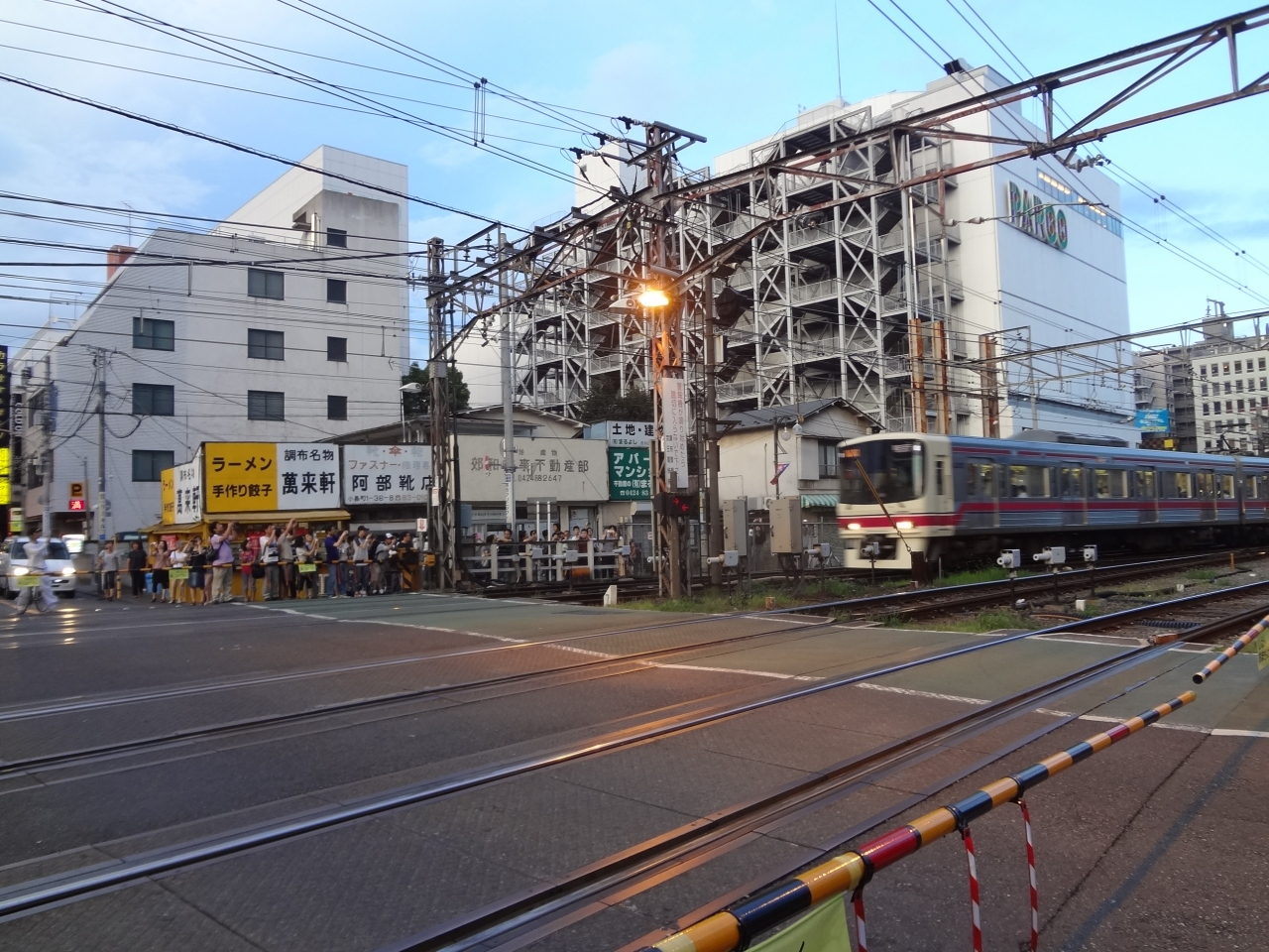さよなら京王線調布地上駅&電車...