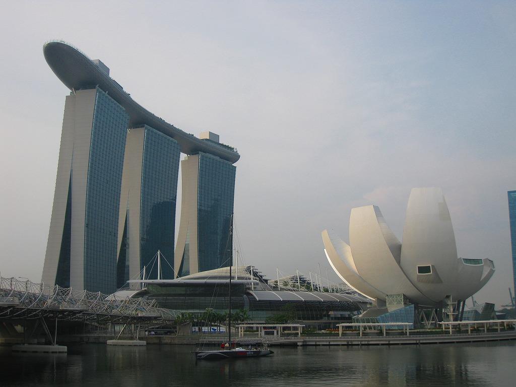 シンガポール♪マリーナ・ベイ&M...
