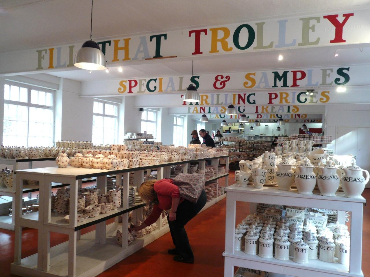 イギリス陶器のふるさと、ストー...