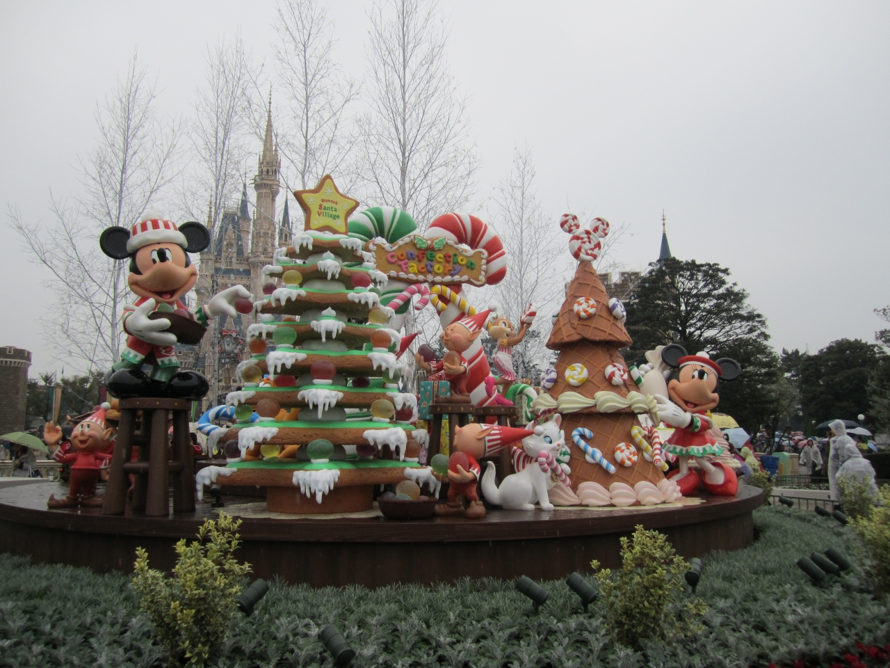 2012ディズニーアンド&シーのクリスマス』東京ディズニーリゾート
