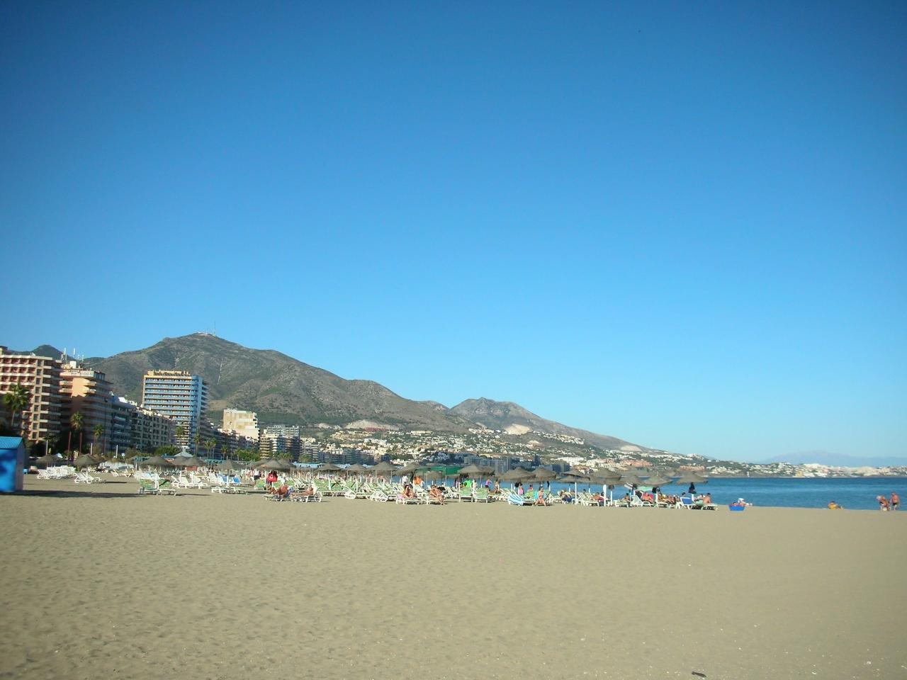 南スペイン、レゾート地コスタ デル ソルで休暇