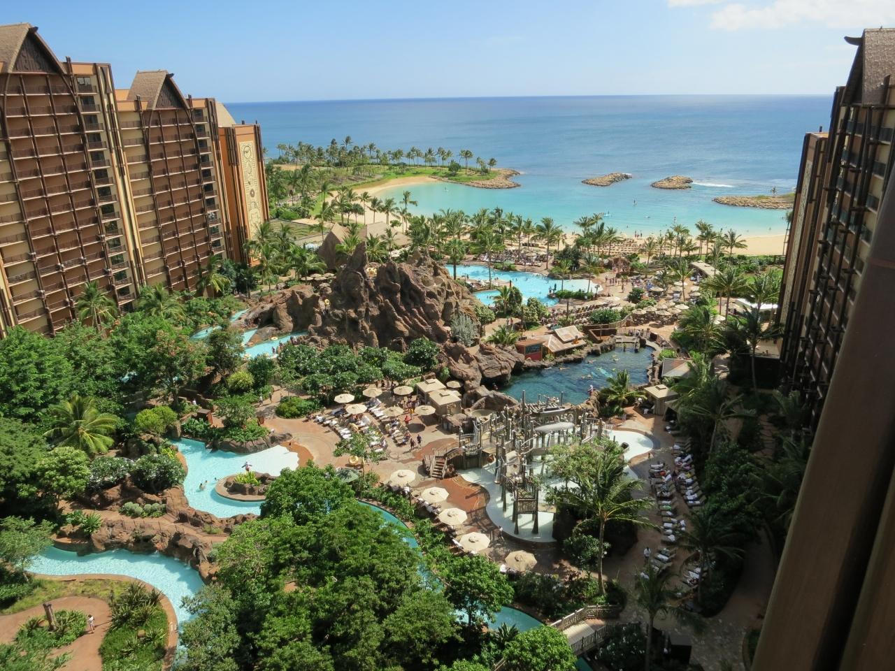 夏のハワイ旅行2012(2)アウラニ ディズニーホテル』オアフ島