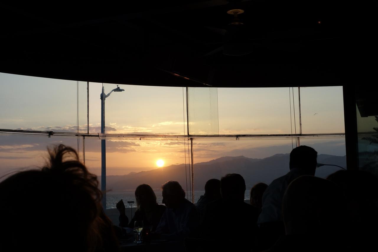 そして眩しい太陽を追いかける sunset santa monica 2013 サンタ