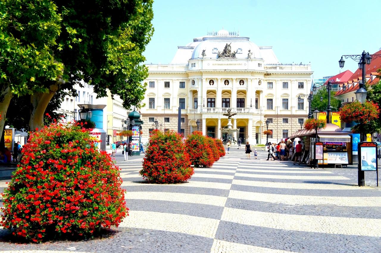 古き良き都市~ブラチスラヴァ~...