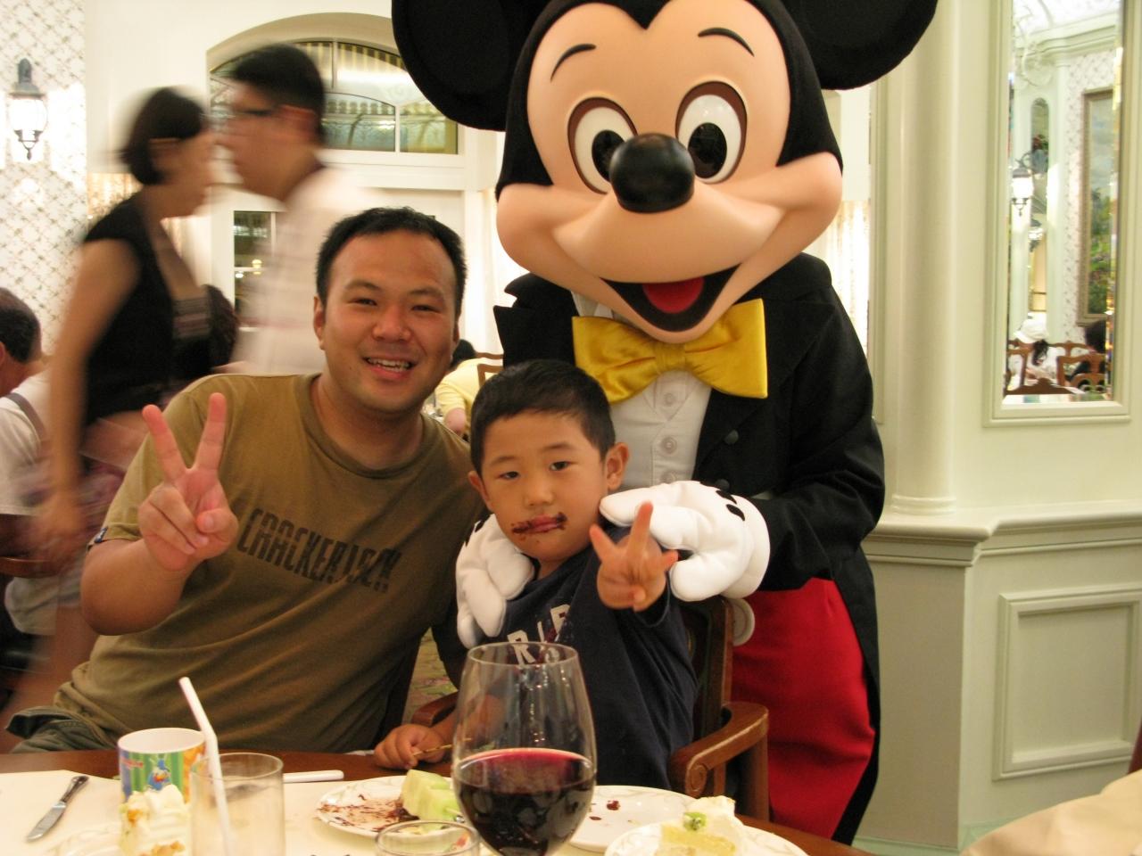 子連れ二家族de行く☆香港☆ディズニーランドでhappy birthday!』香港