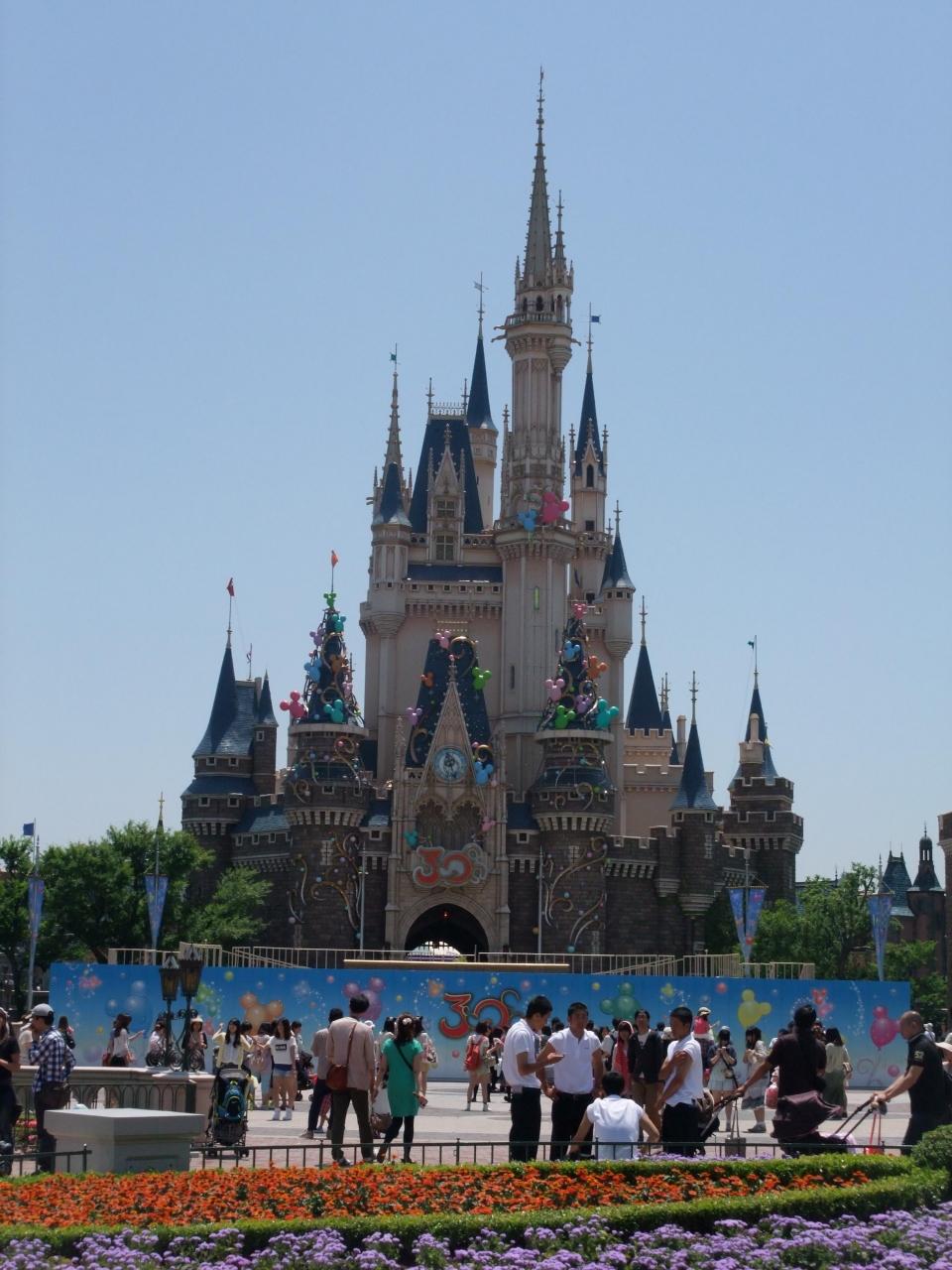 日帰りで行く30周年の東京ディズニーランドへ』東京ディズニーリゾート