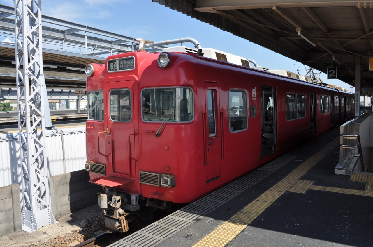 2013年9月名古屋鉄道全線乗りつ...