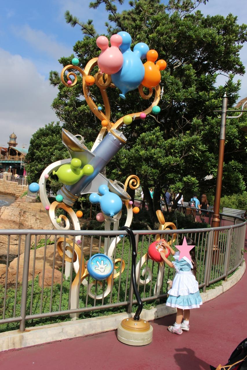 子連れtdr 年長で初ディズニー 2013 ハロウィ-ン&30周年 三日目