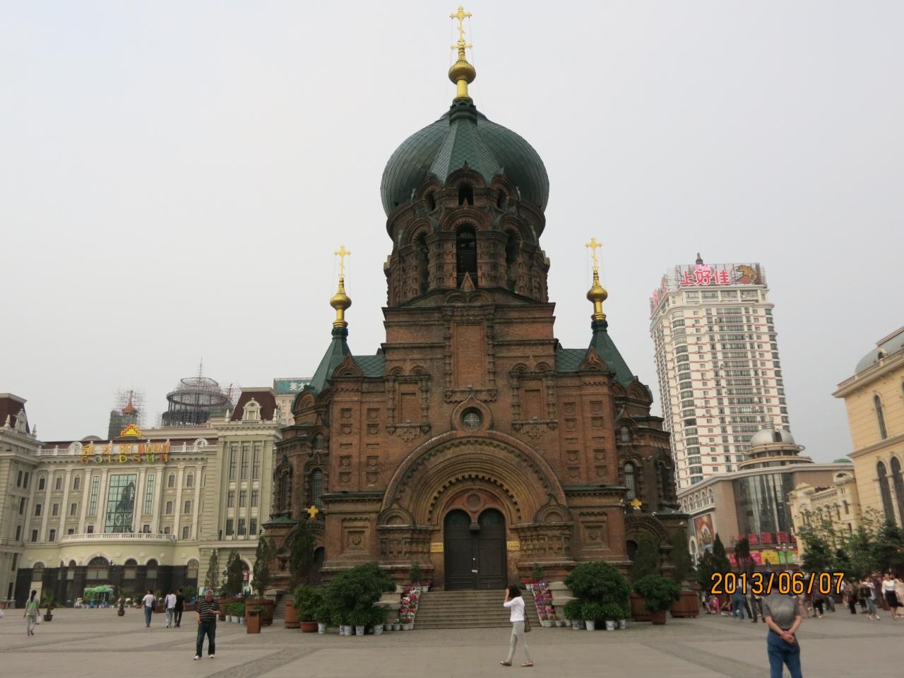 中国韓国 建築物散策 <二>. ハルビンのロシア風建築(2013年6月)