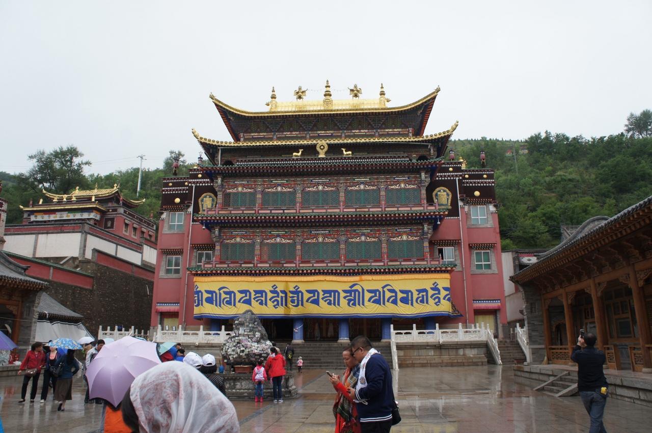 出張ついでにチベット寺院観光 ...