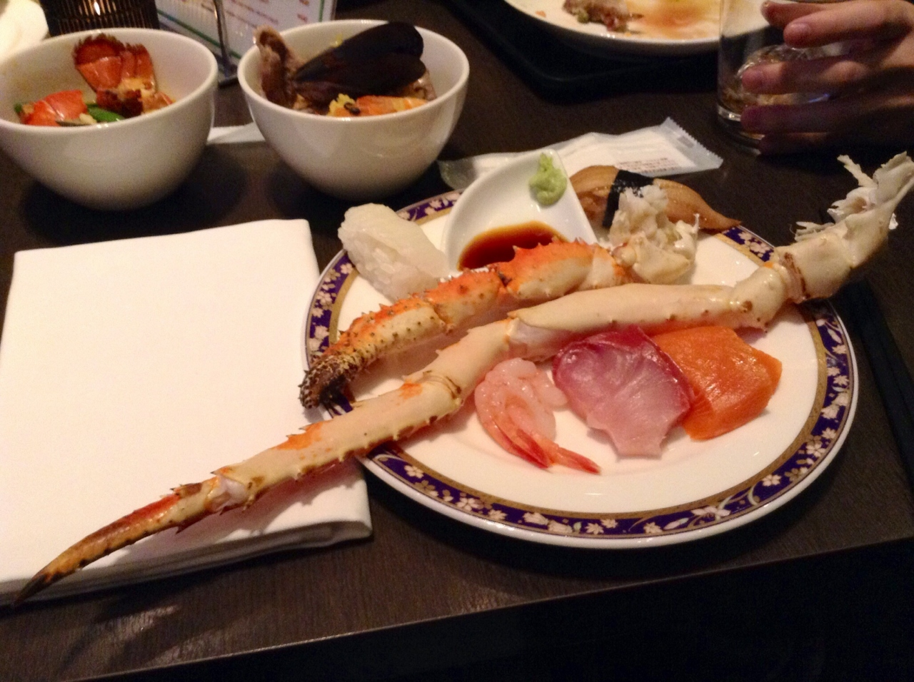 日本一のビュッフェ Luxe Dining Hapuna品川プリンスホテル