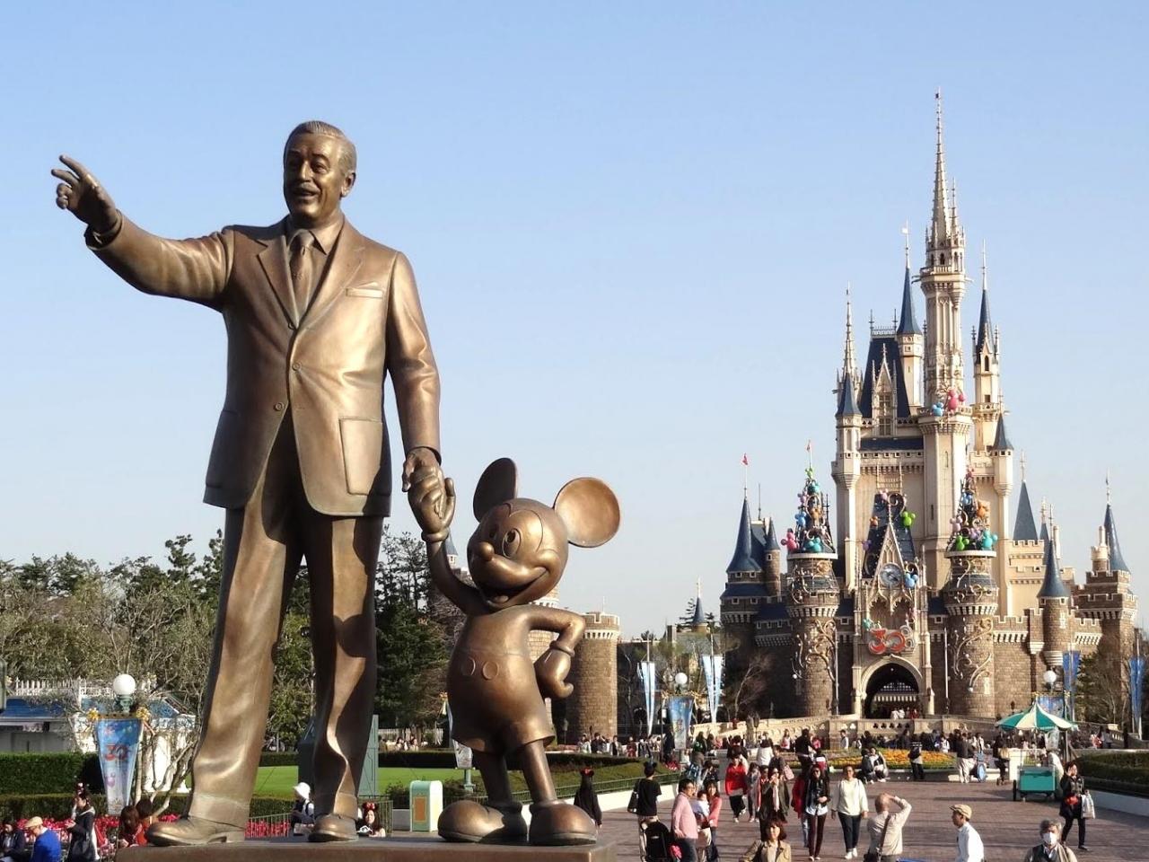 ディズニーリゾート訪問記 (特典航空券の旅)』東京ディズニー