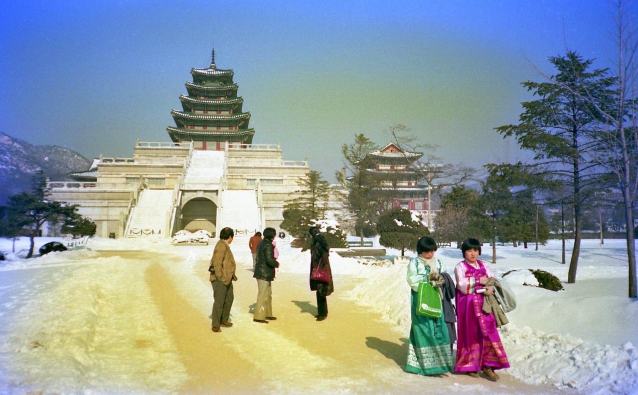 初めて韓国へ行って縦断した時の旅行記(1980年12月~1981年1月)