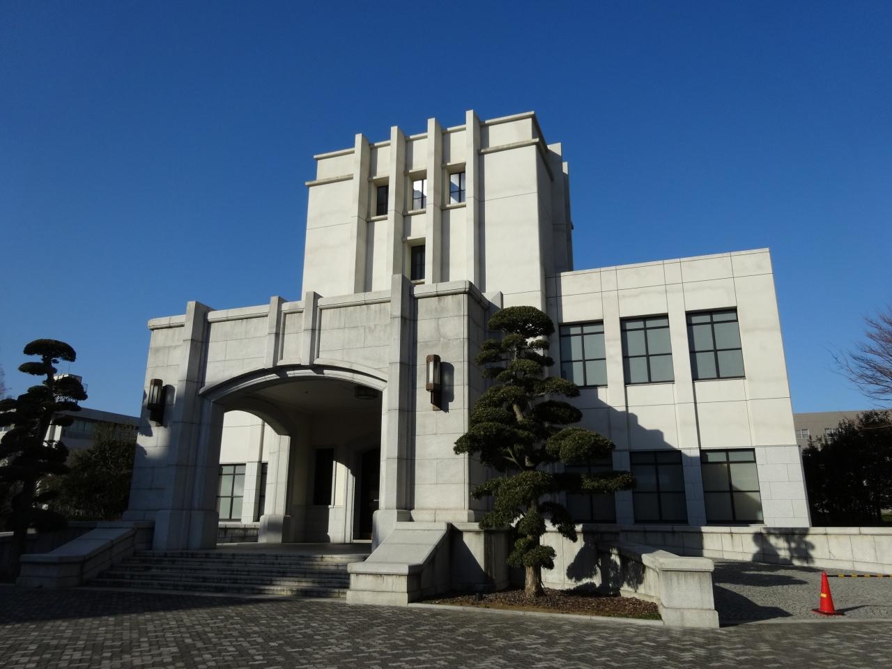 市ヶ谷の防衛省を見学しました。