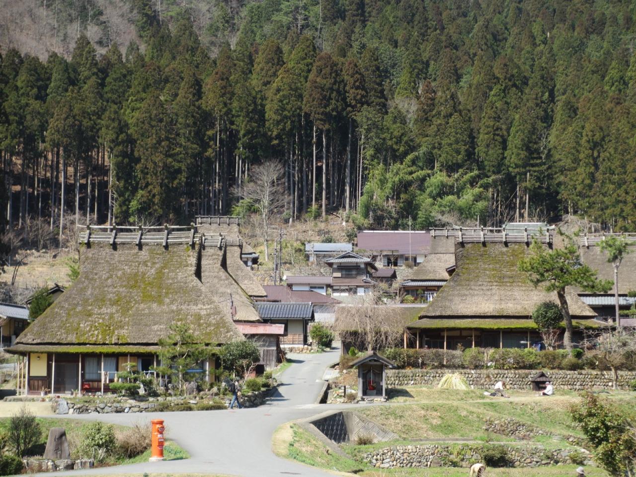 美山かやぶきの里と常照皇寺の旅...