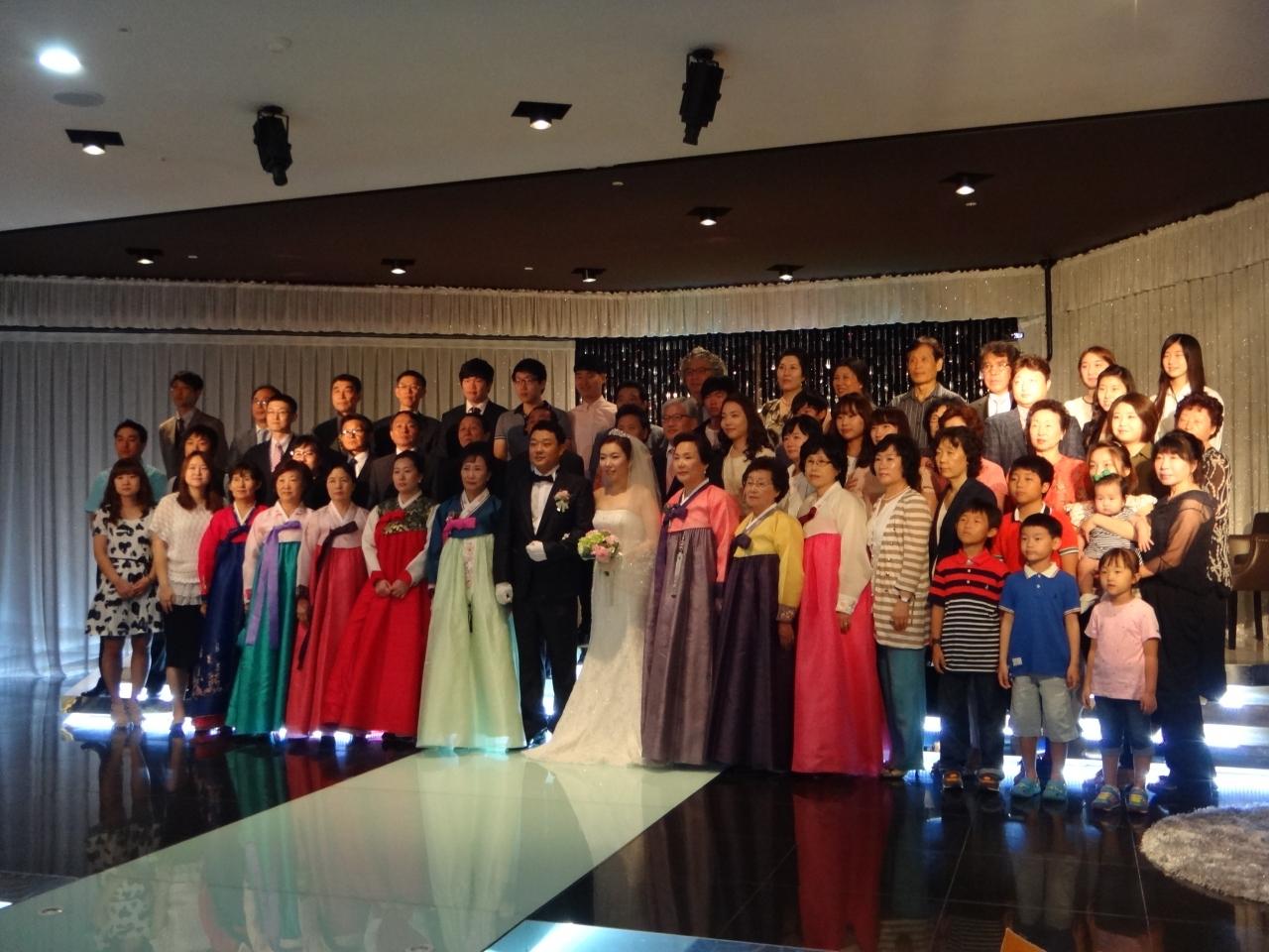 韓国人の友達の結婚式に参加してきました。\u003cbr /