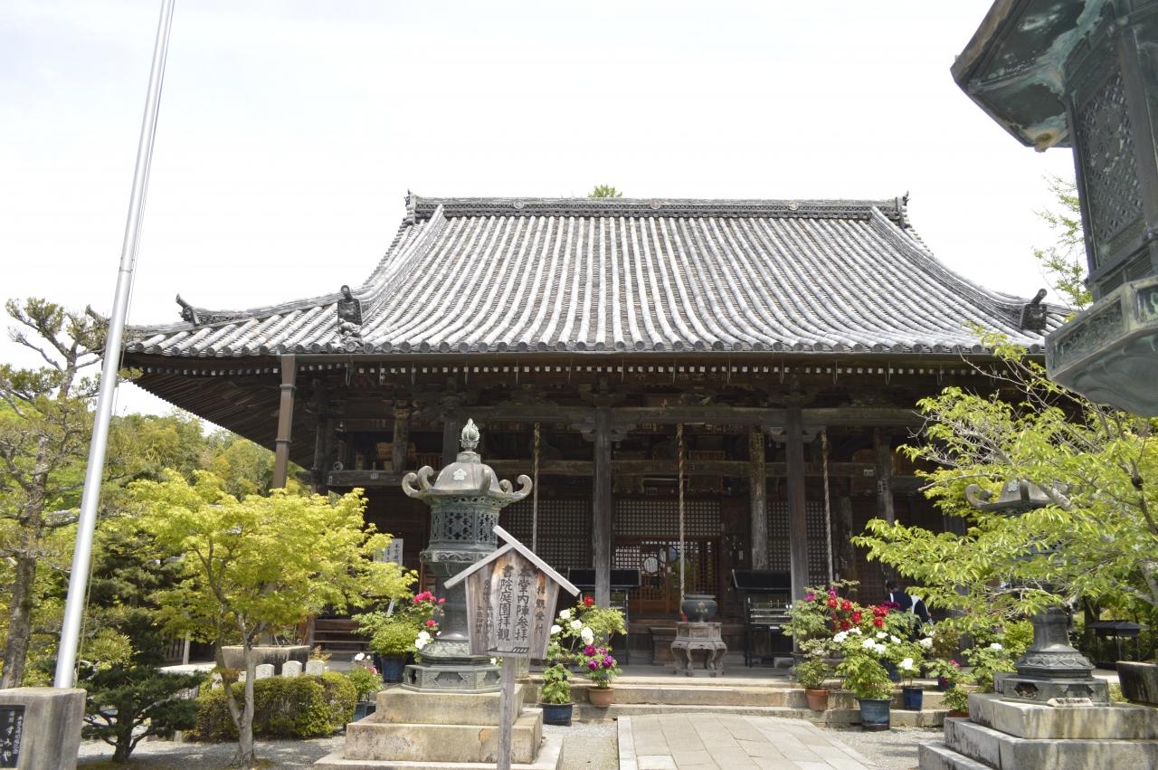 おしどり夫婦の西国33カ所めぐり 21番 菩提山 穴太寺