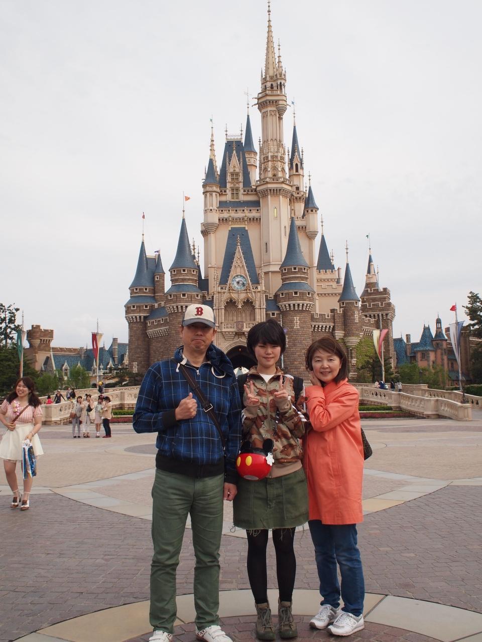 初お泊まりディズニー 2日目 ディズニーランド編』東京ディズニー