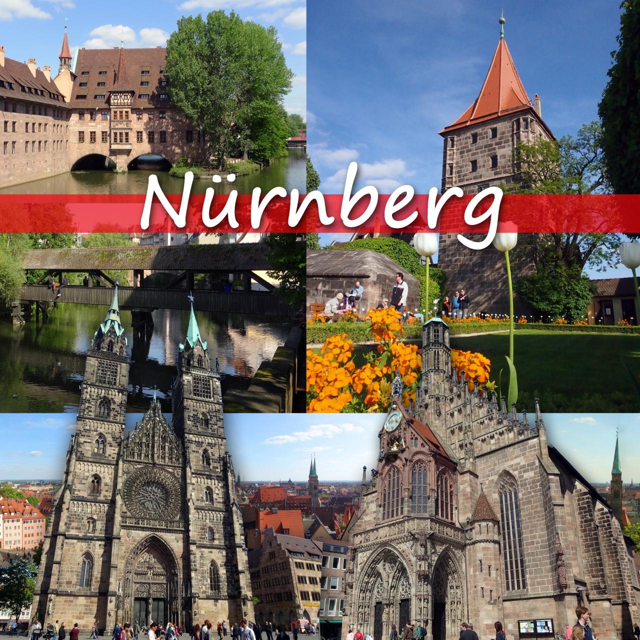 ドイツ鉄道で4都市をめぐる旅 2 -日曜日のニュルンベルク街歩き ...